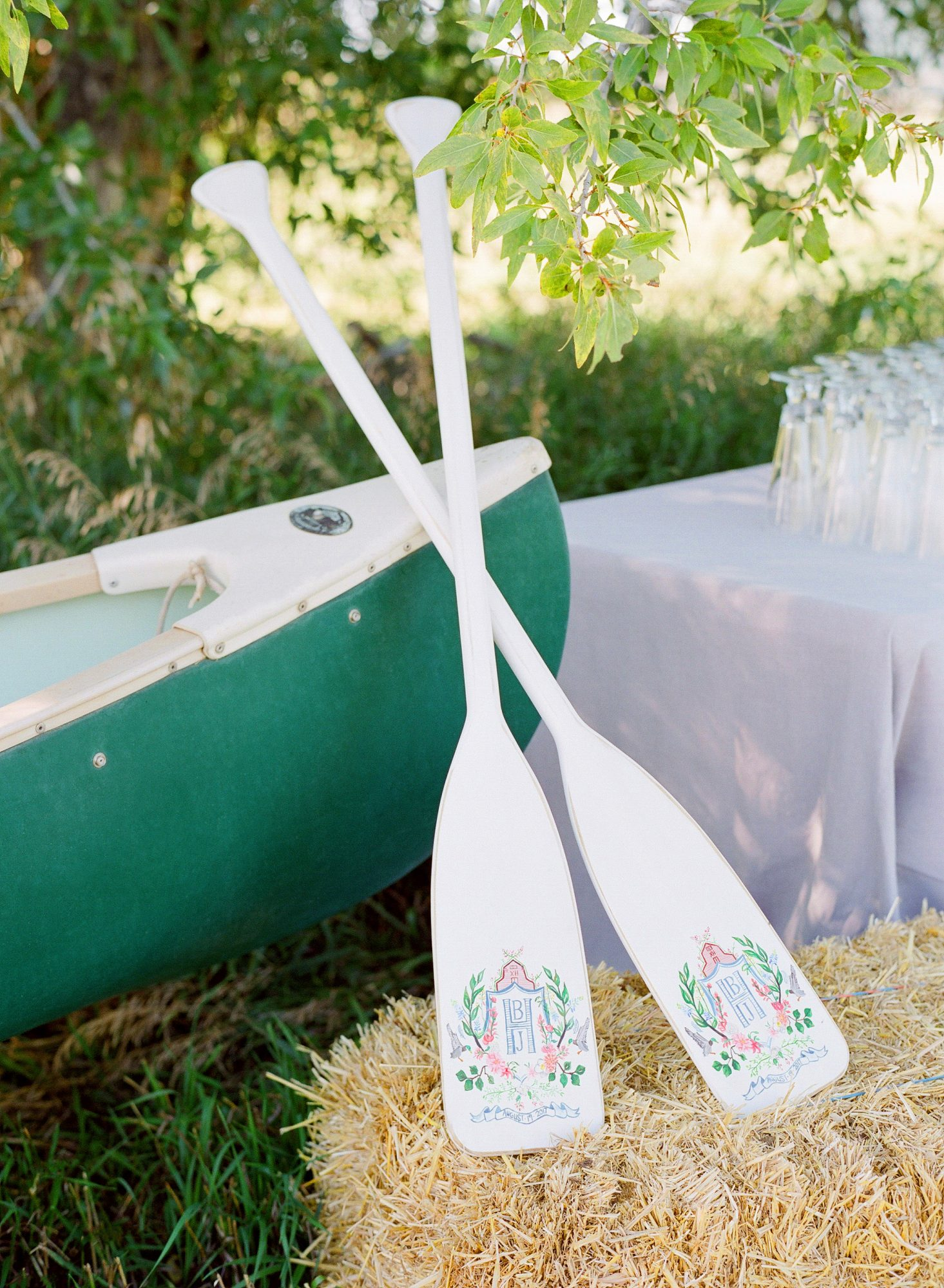 bessie john wedding oars