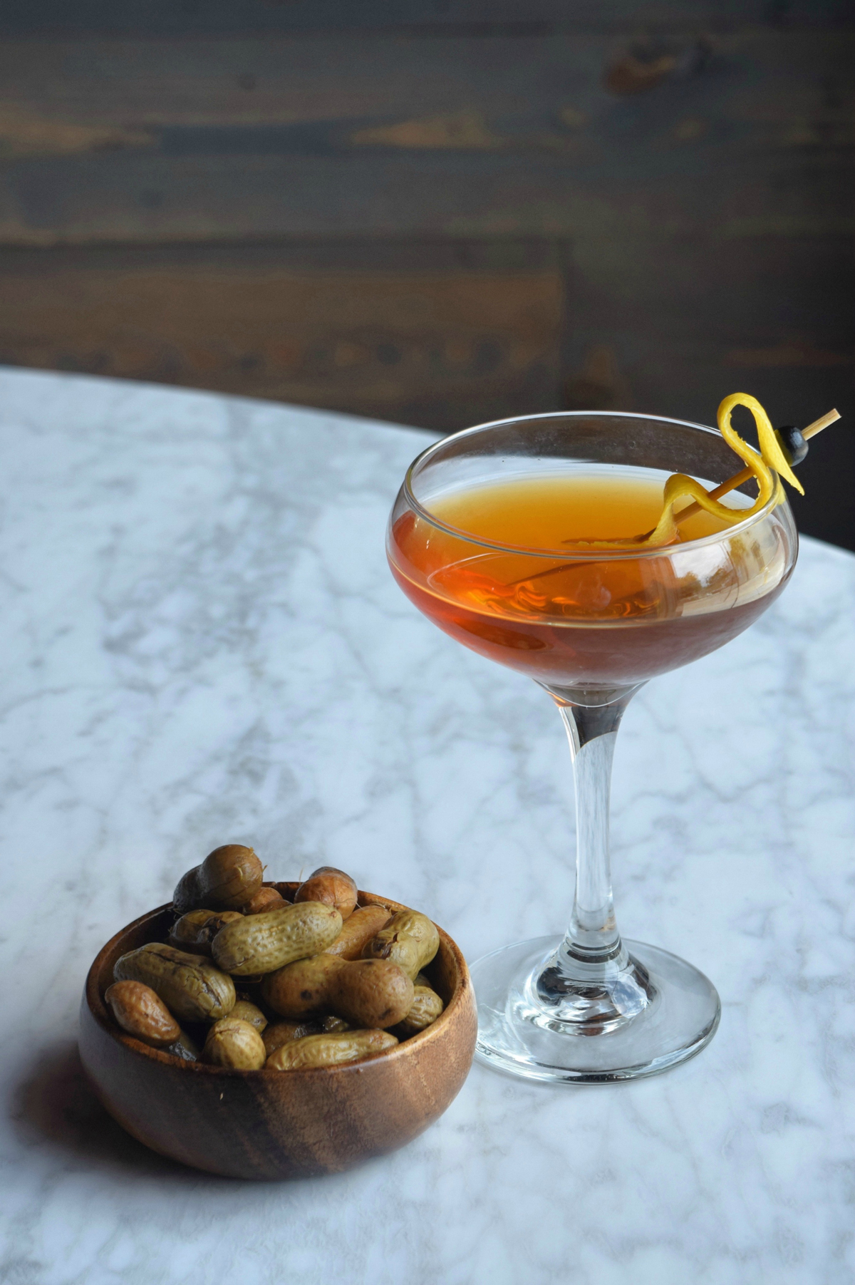 state signature cocktails 492 north carolina with bar nuts