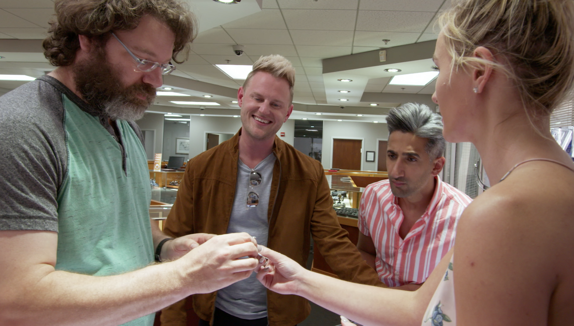 Queer Eye Season Two Sneak Peek, Engagement Ring Shopping