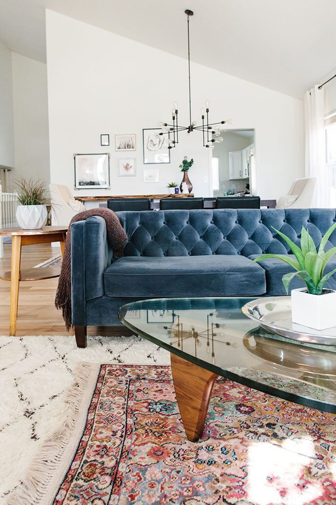 Super How To Layer Your Rugs Like A Pro Martha Stewart Spiritservingveterans Wood Chair Design Ideas Spiritservingveteransorg