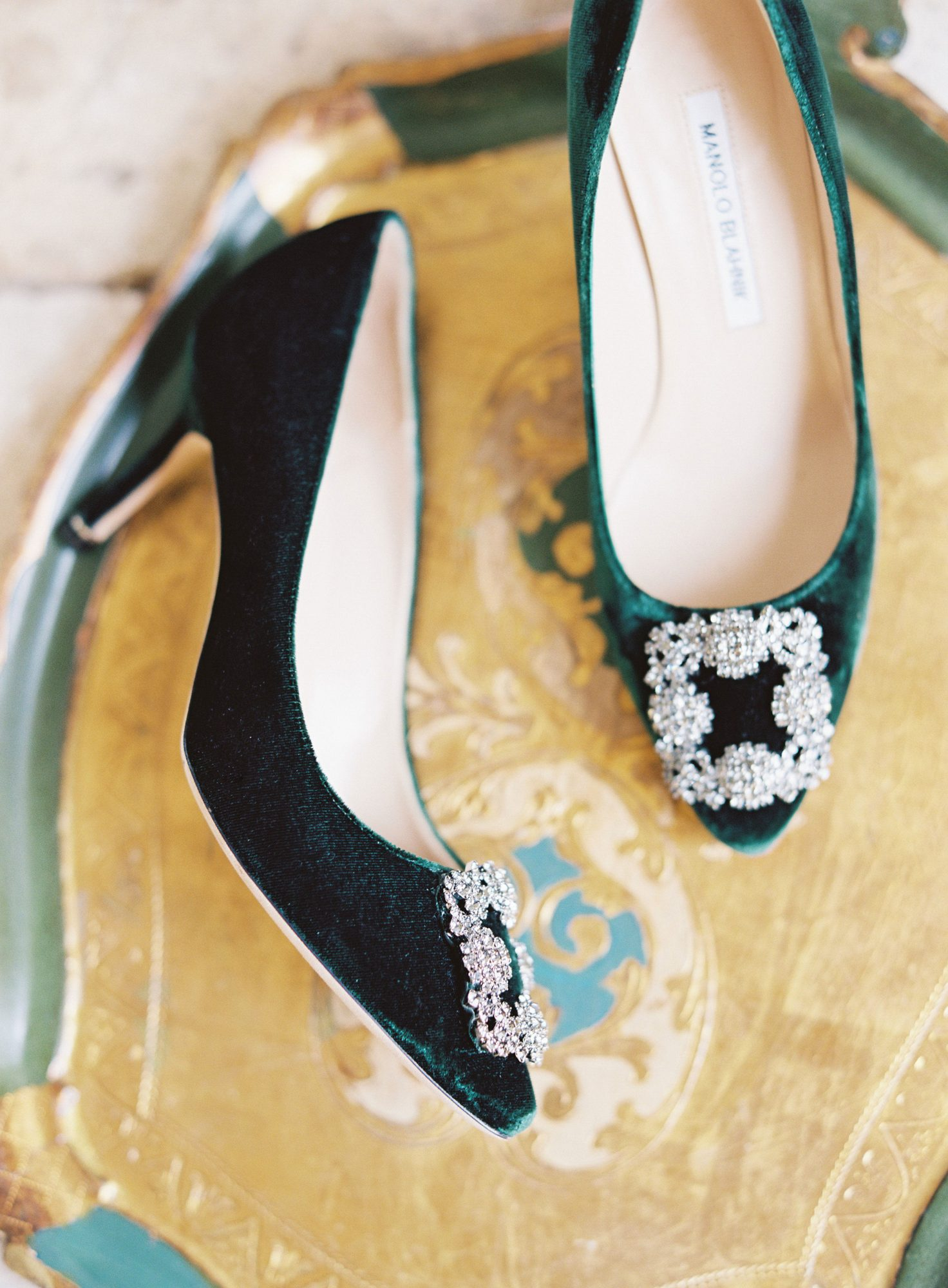 madeline brad wedding shoes