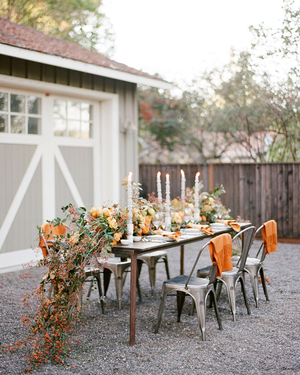 fall engagement party ideas sylvie gil 0718