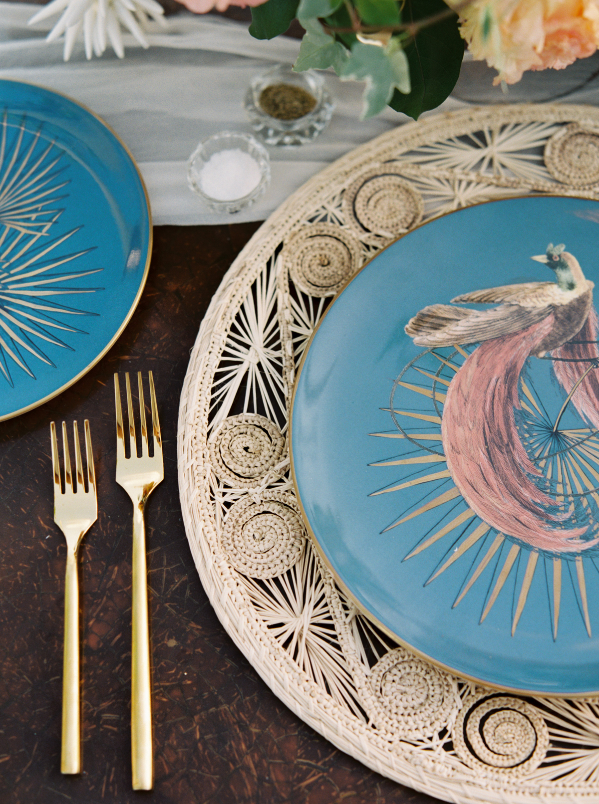 turks and caicos shoot erich mcvey tablescape plate close up