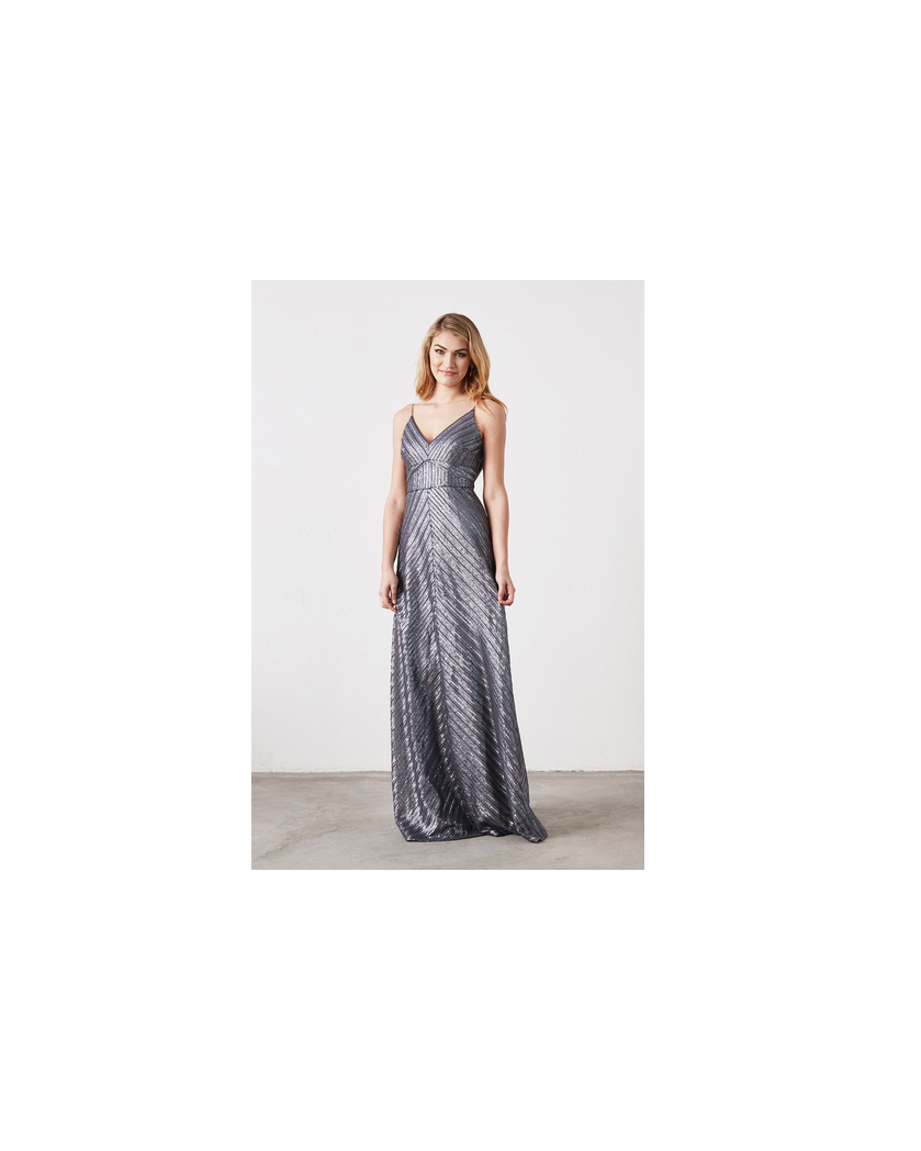 grey silver bridesmaid dresses weddington way florence