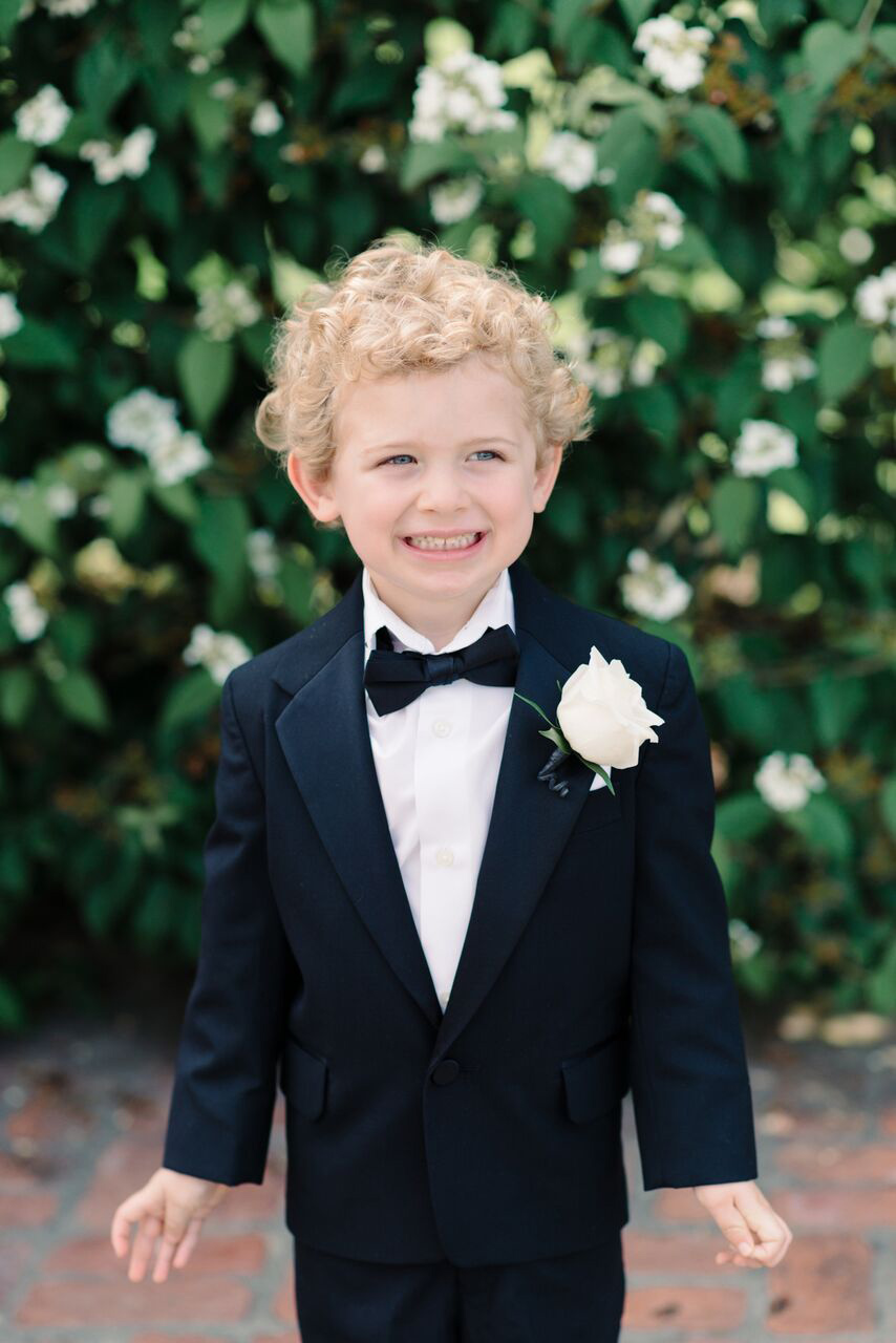 Formal Ring Bearer Boutonnière
