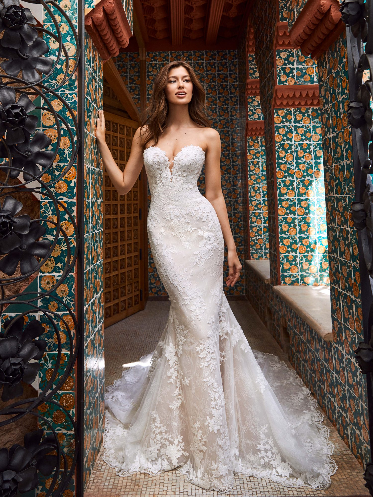 pronovias kleinfeld wedding dress fall 2019 04