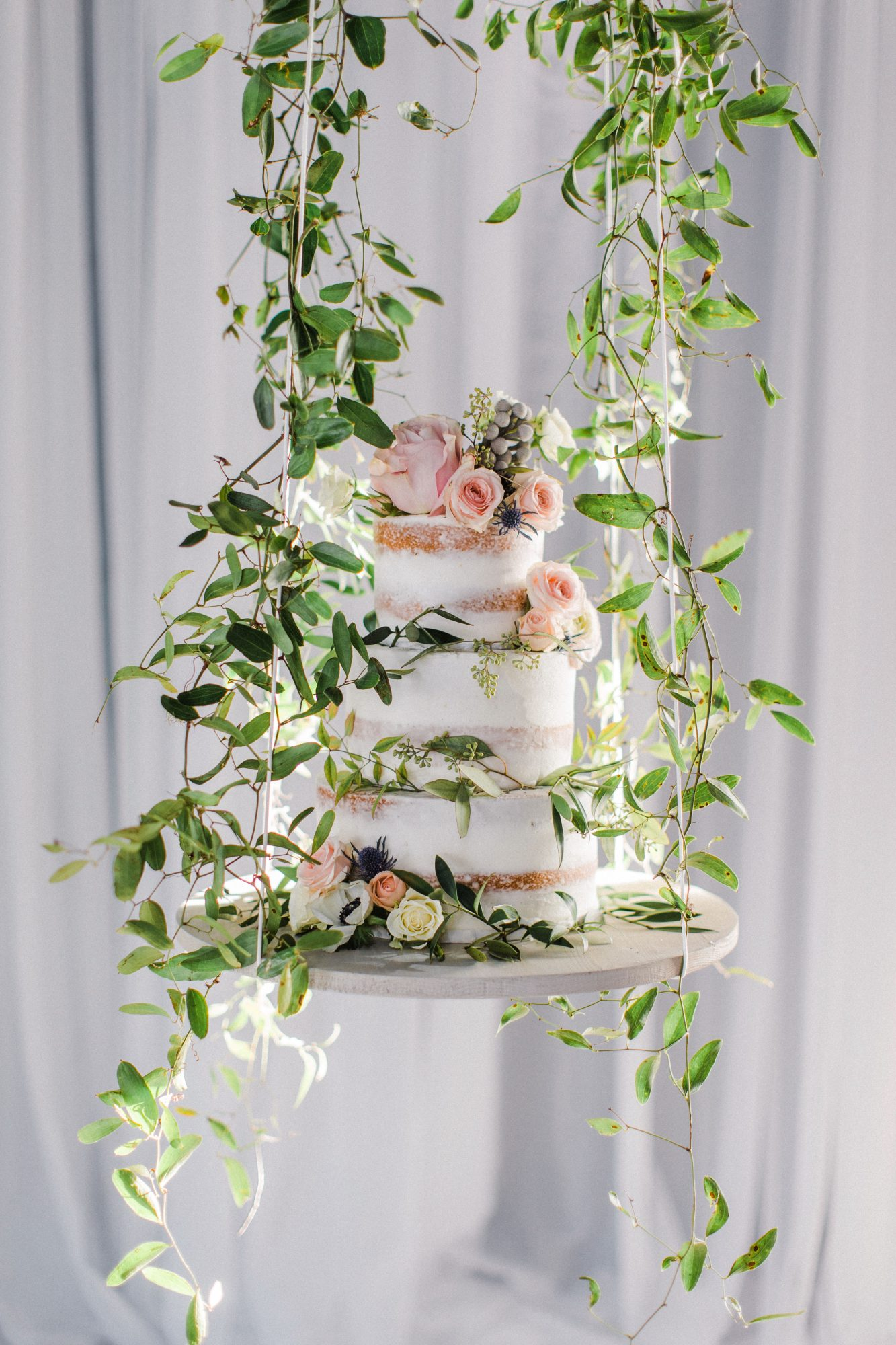 suspended wedding cake tables jessica blex
