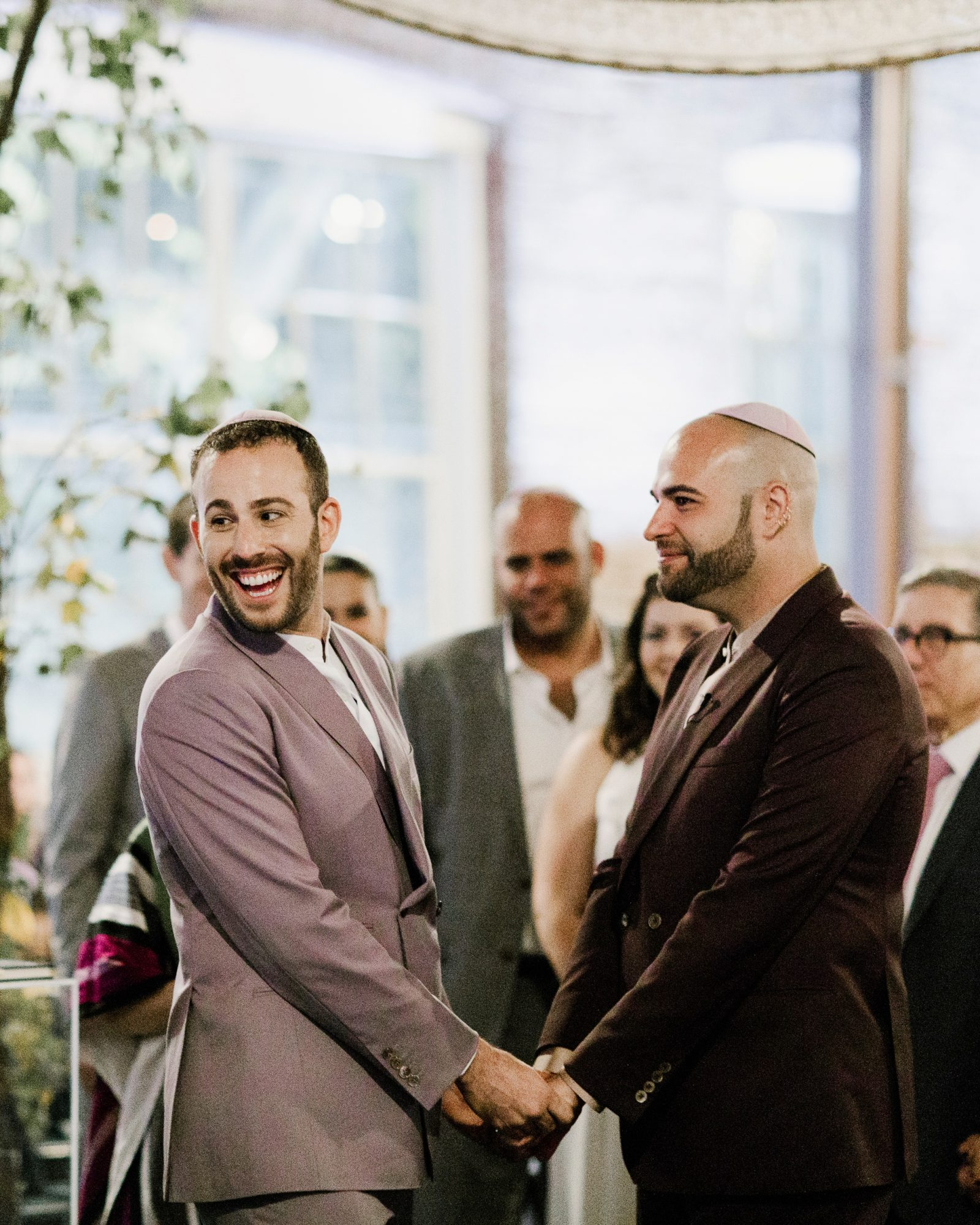 micah jason wedding grooms ceremony same sex jewish