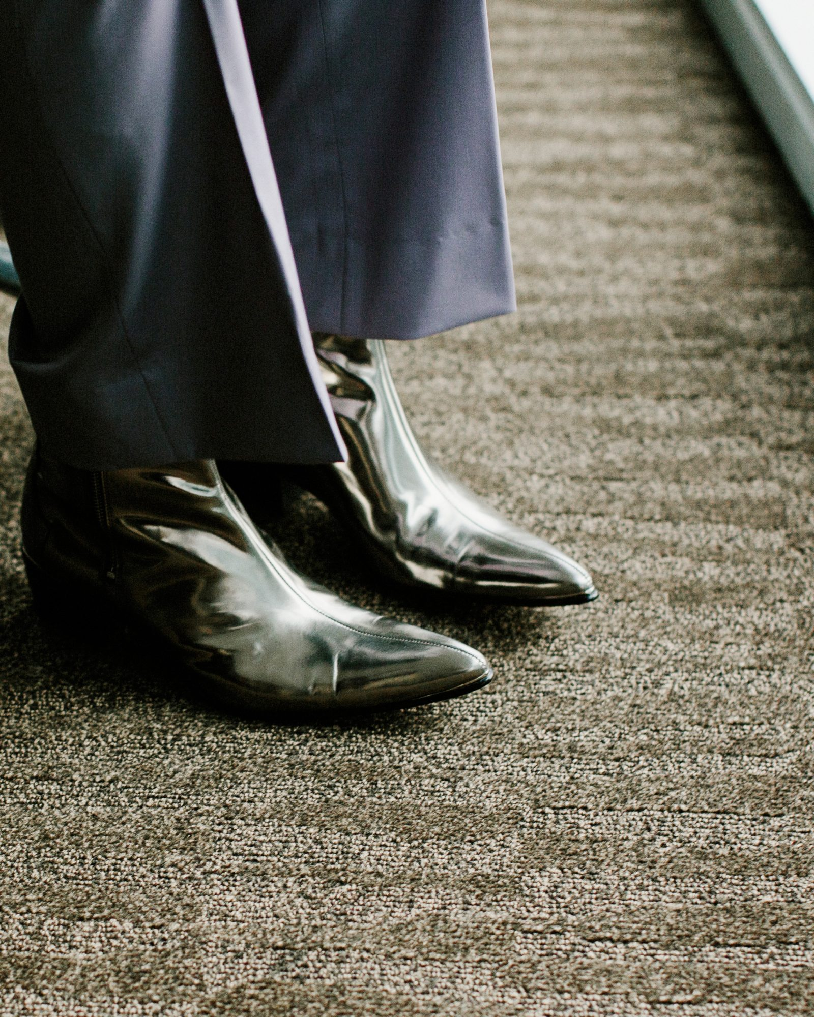 micah jason wedding shoes silver same sex jewish