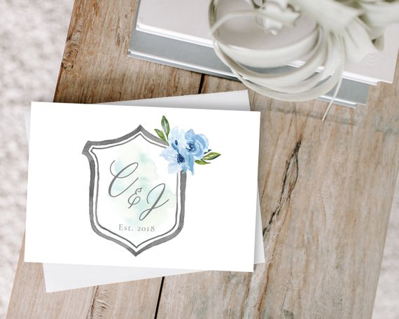 thank you notes etsy charming tree design