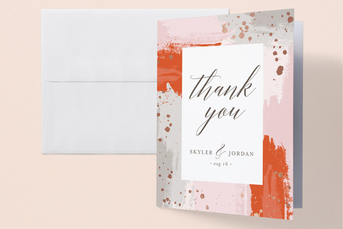 thank you notes minted the artist