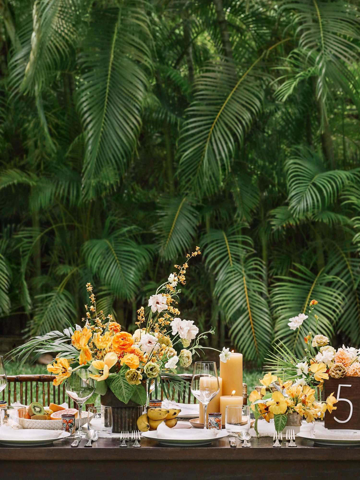 A Lush Tablescape