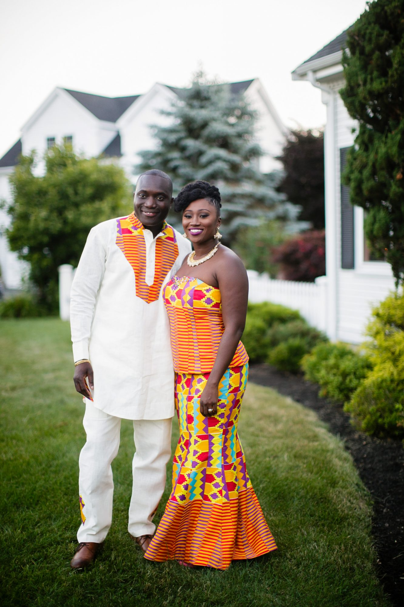 Ghanaian Wedding Dress