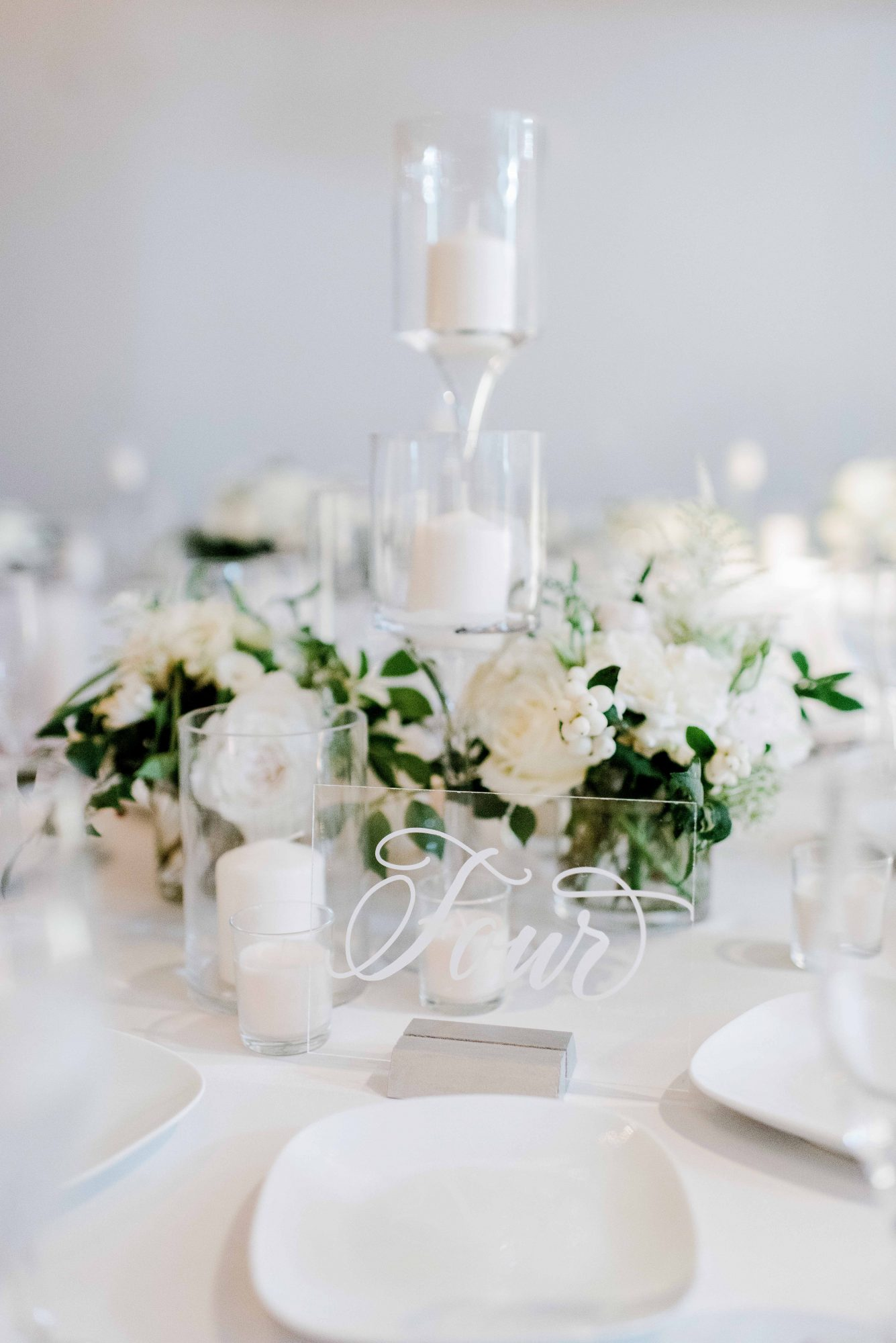 winter wedding centerpieces rachel pearlman photography