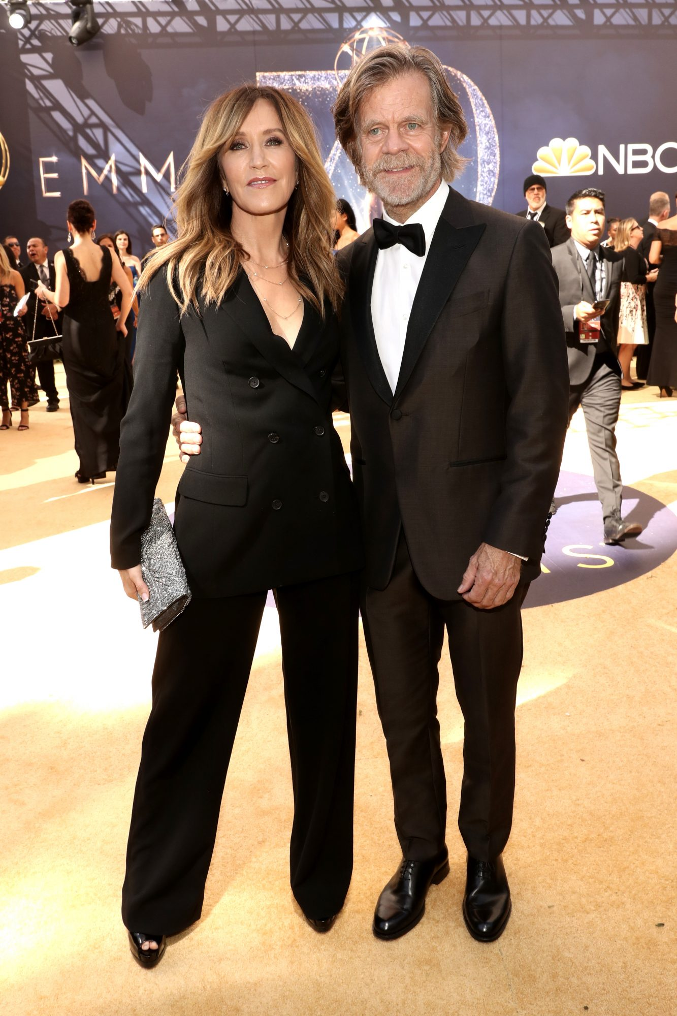 felicity huffman and william h macy emmys 2018