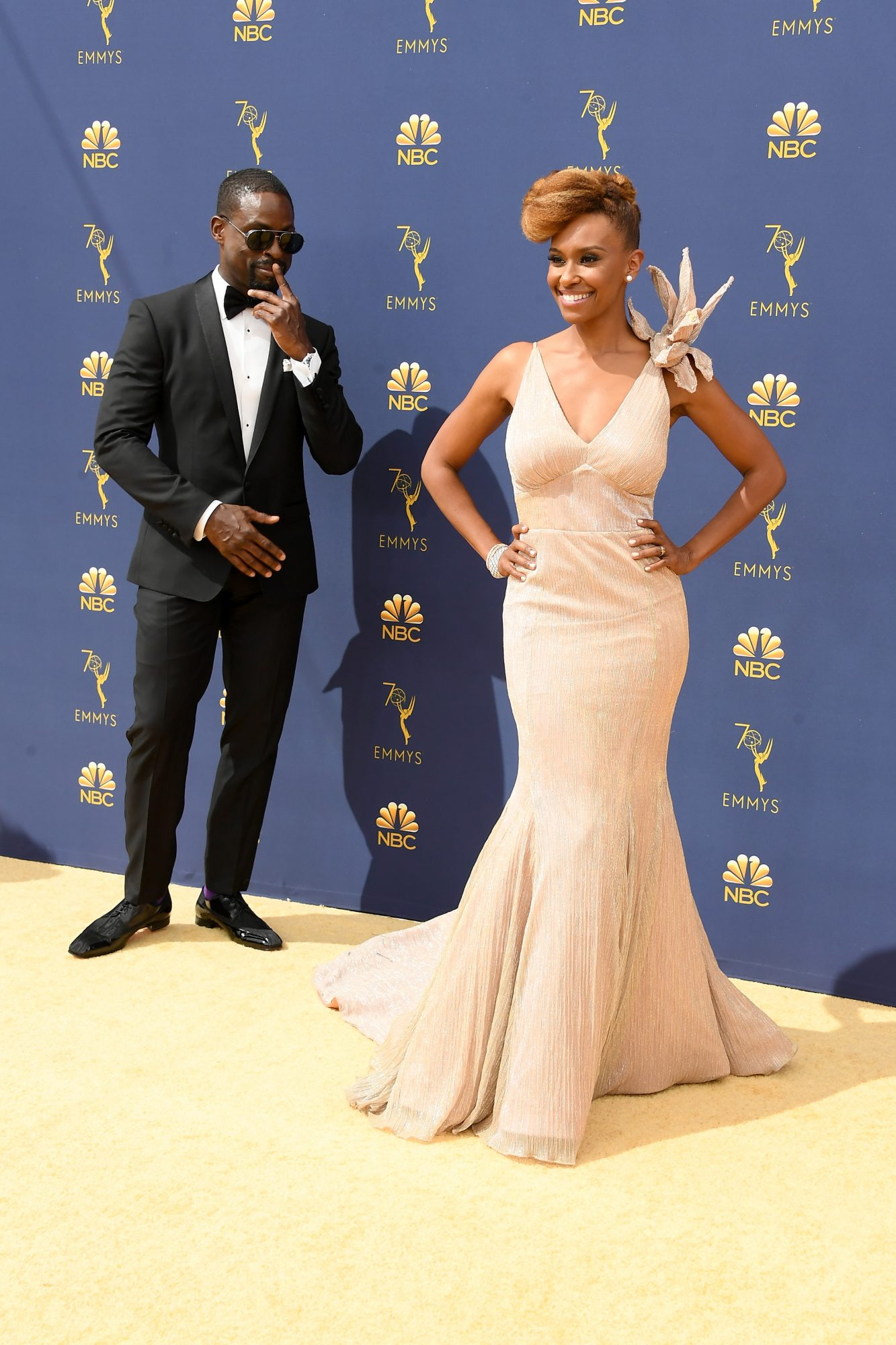 Sterling K. Brown and Ryan Michelle Bathe Emmys 2018