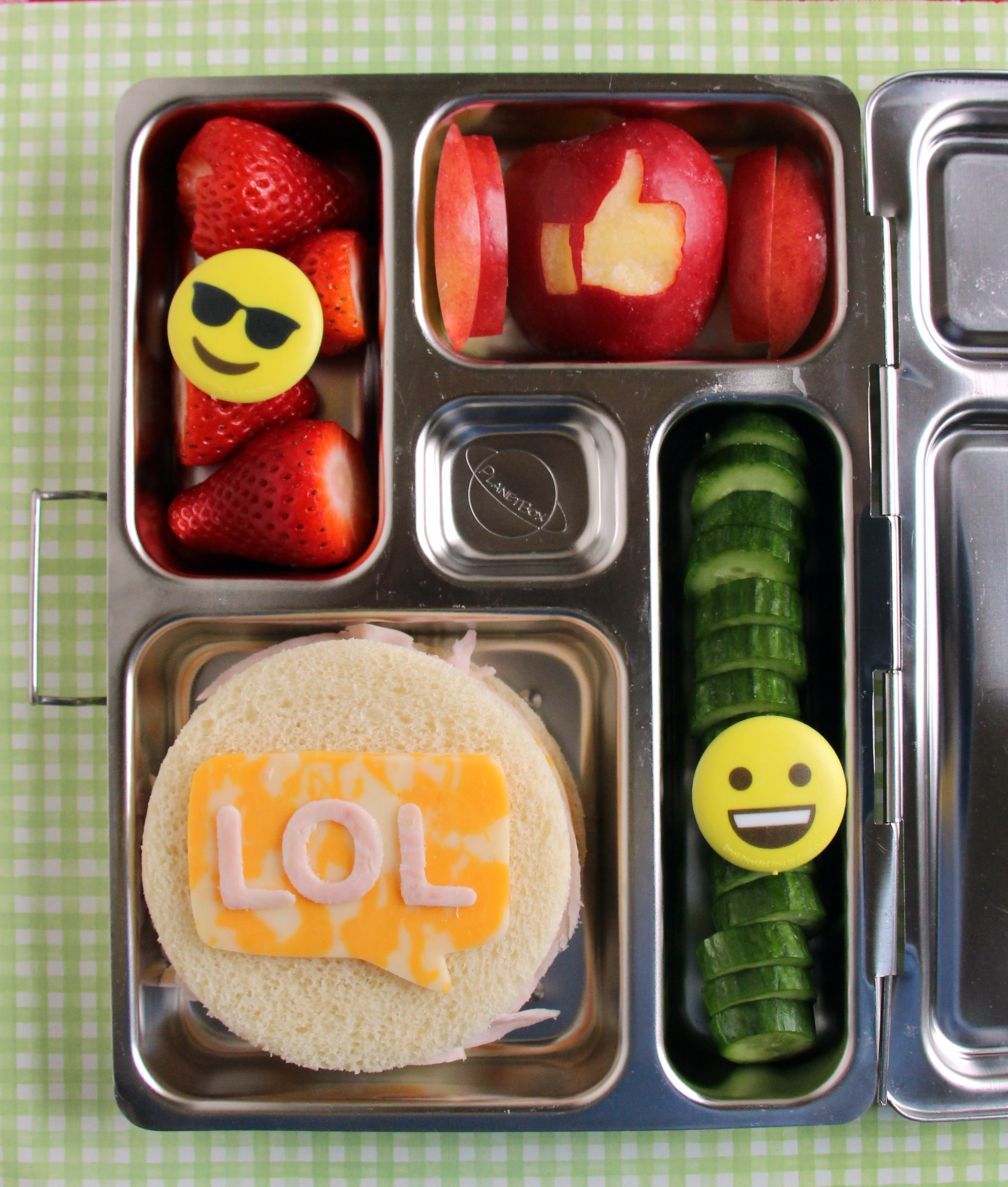bento box emojis lol sandwich