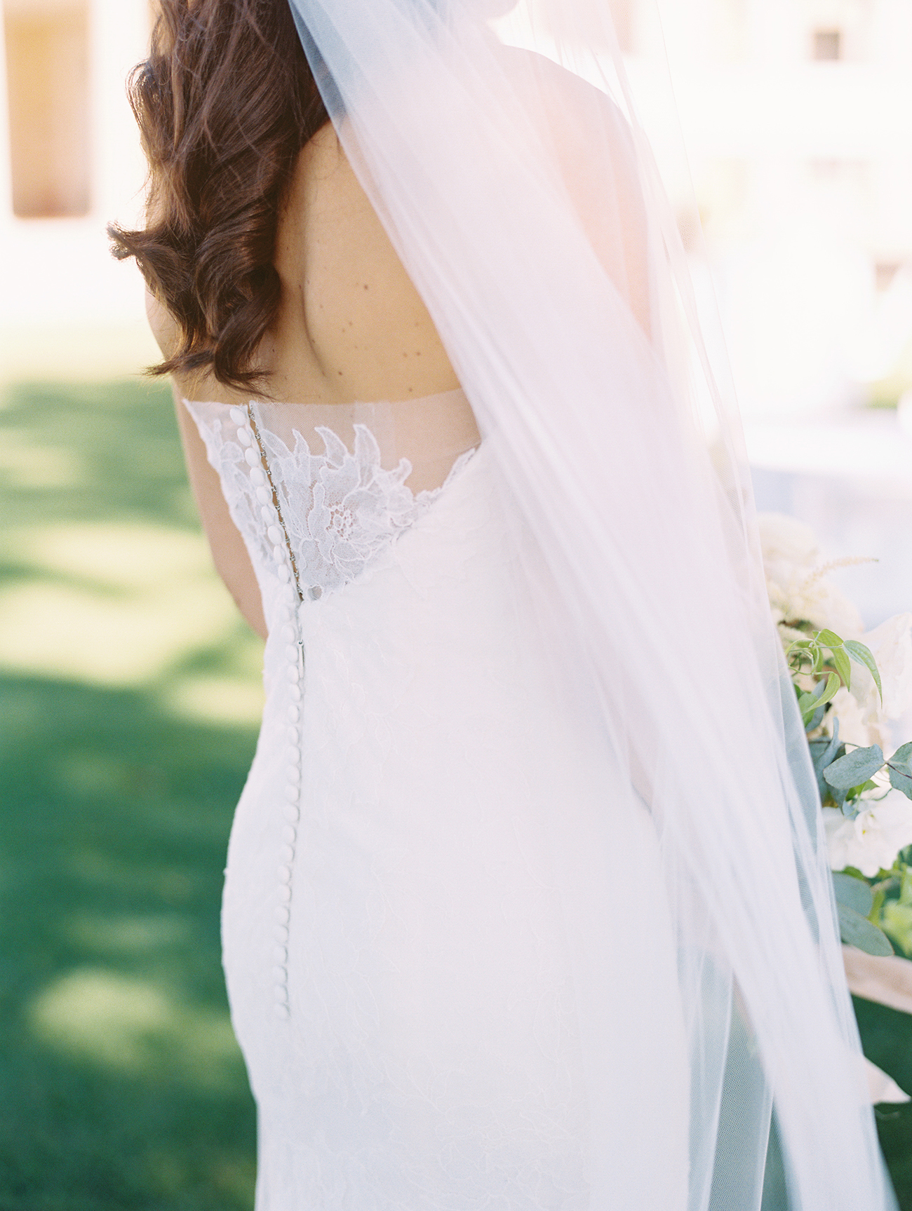 jessica brian wedding dress detail