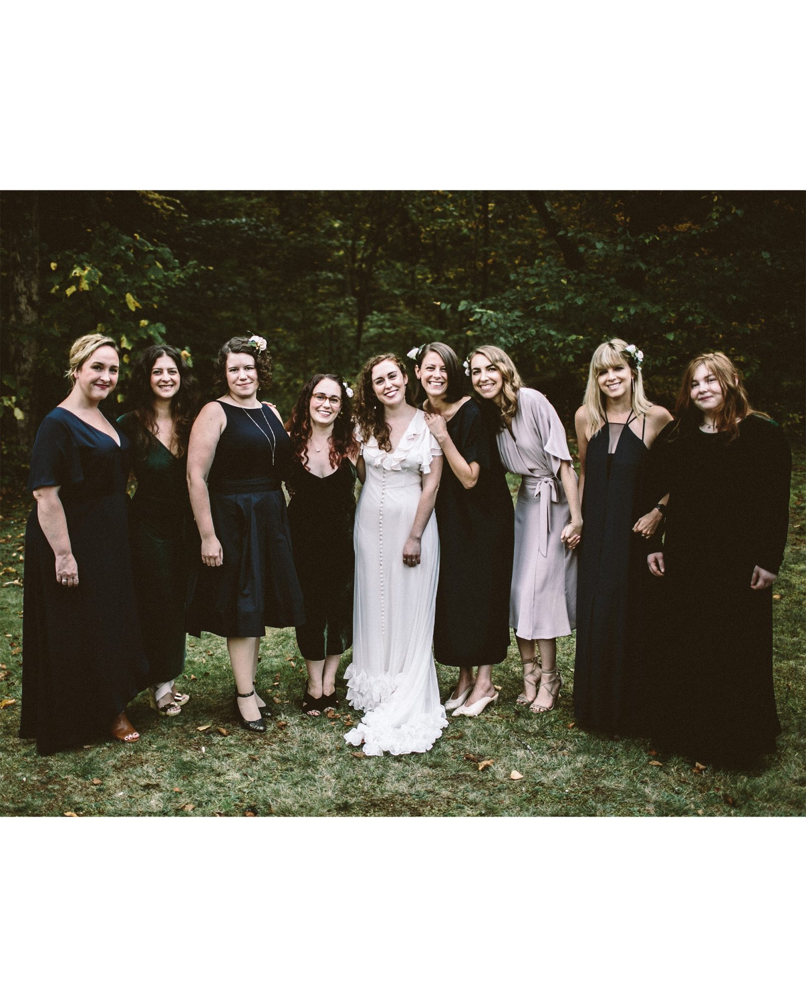 angie reed wedding bridesmaids