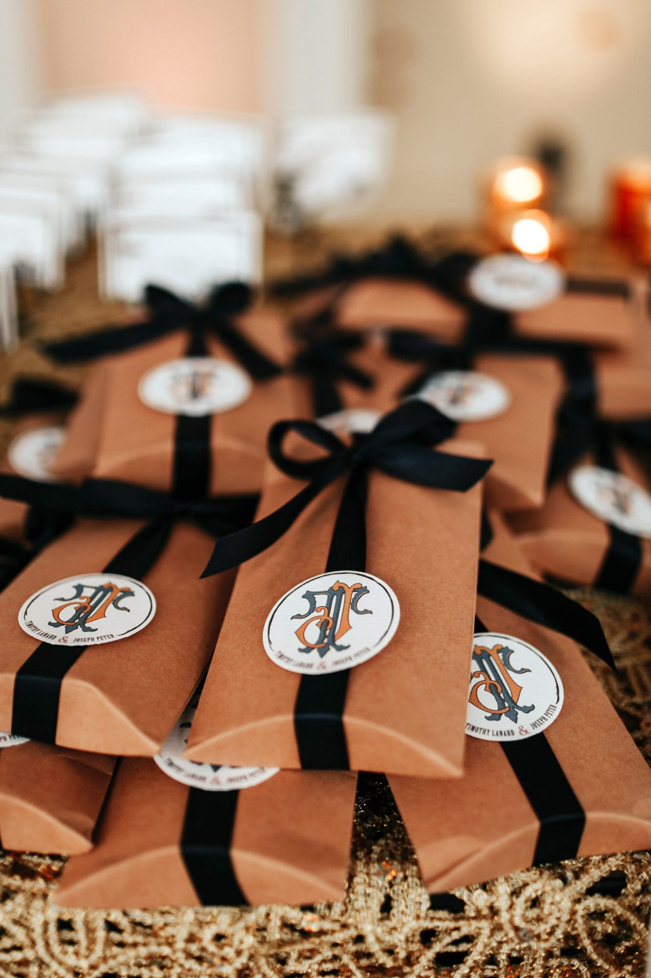 joe tim new orleans wedding favors