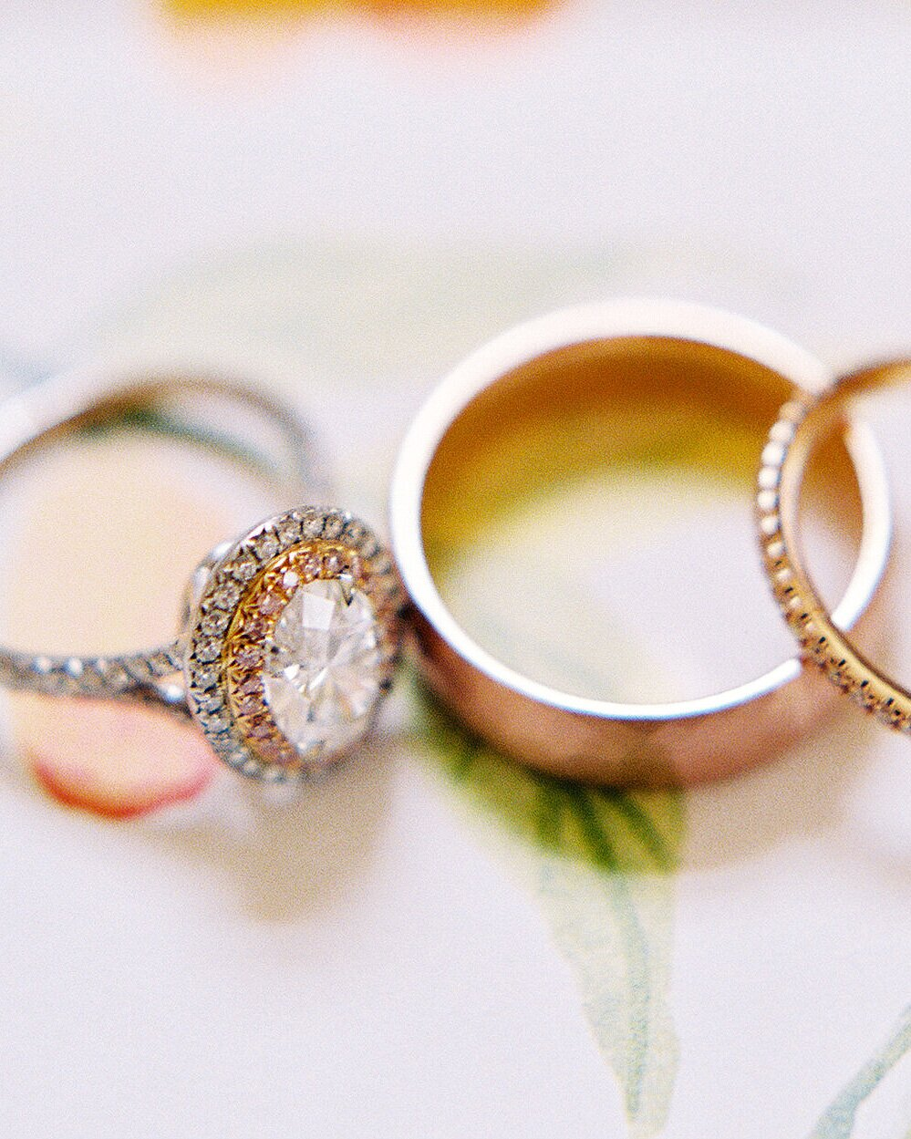 This is a picture of What You Need to Know About Having Multiple Wedding Rings Martha