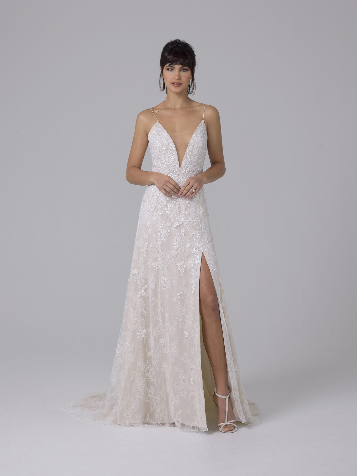 Liancarlo v-neck wedding dress fall 2019
