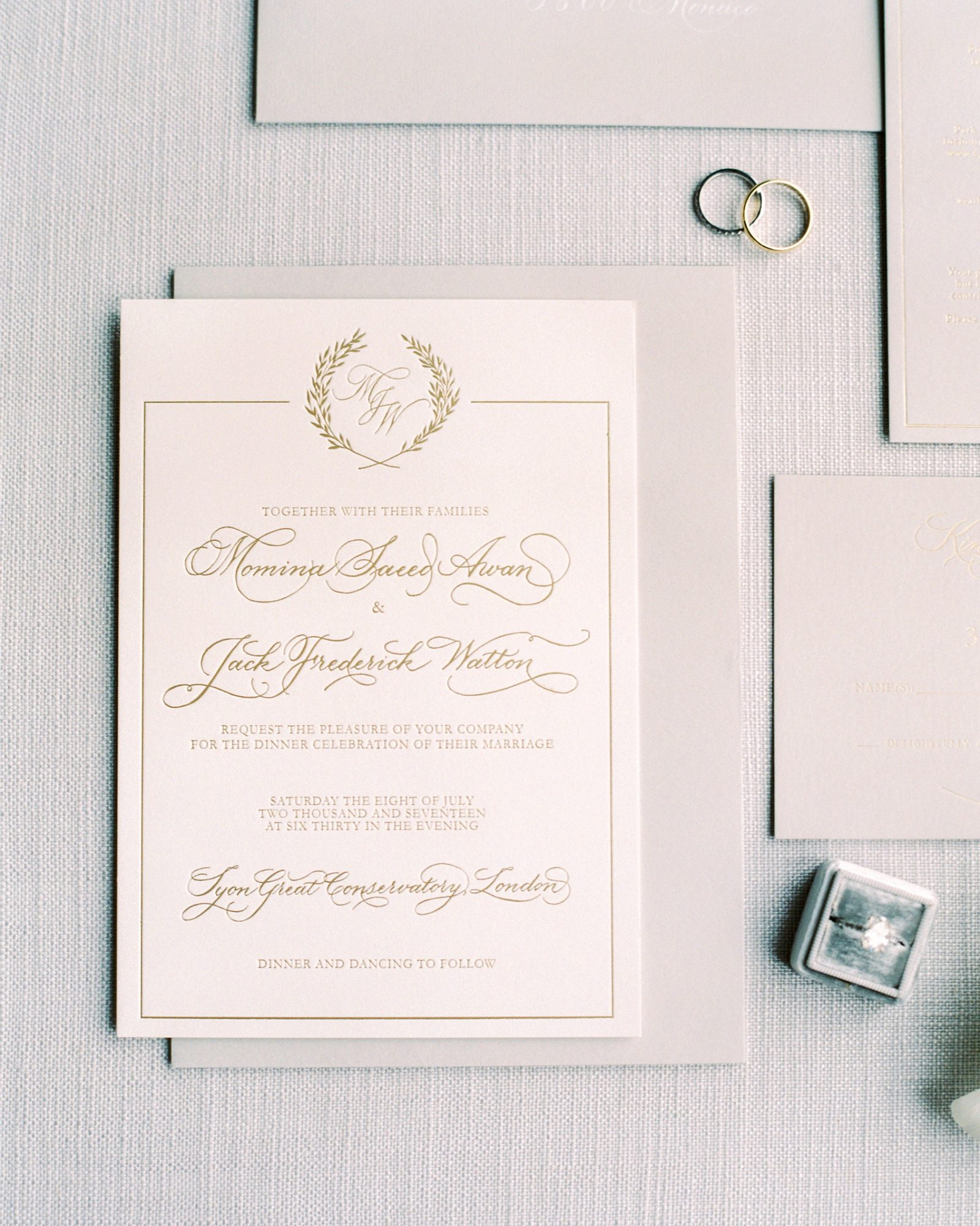 momina jack wedding invitation