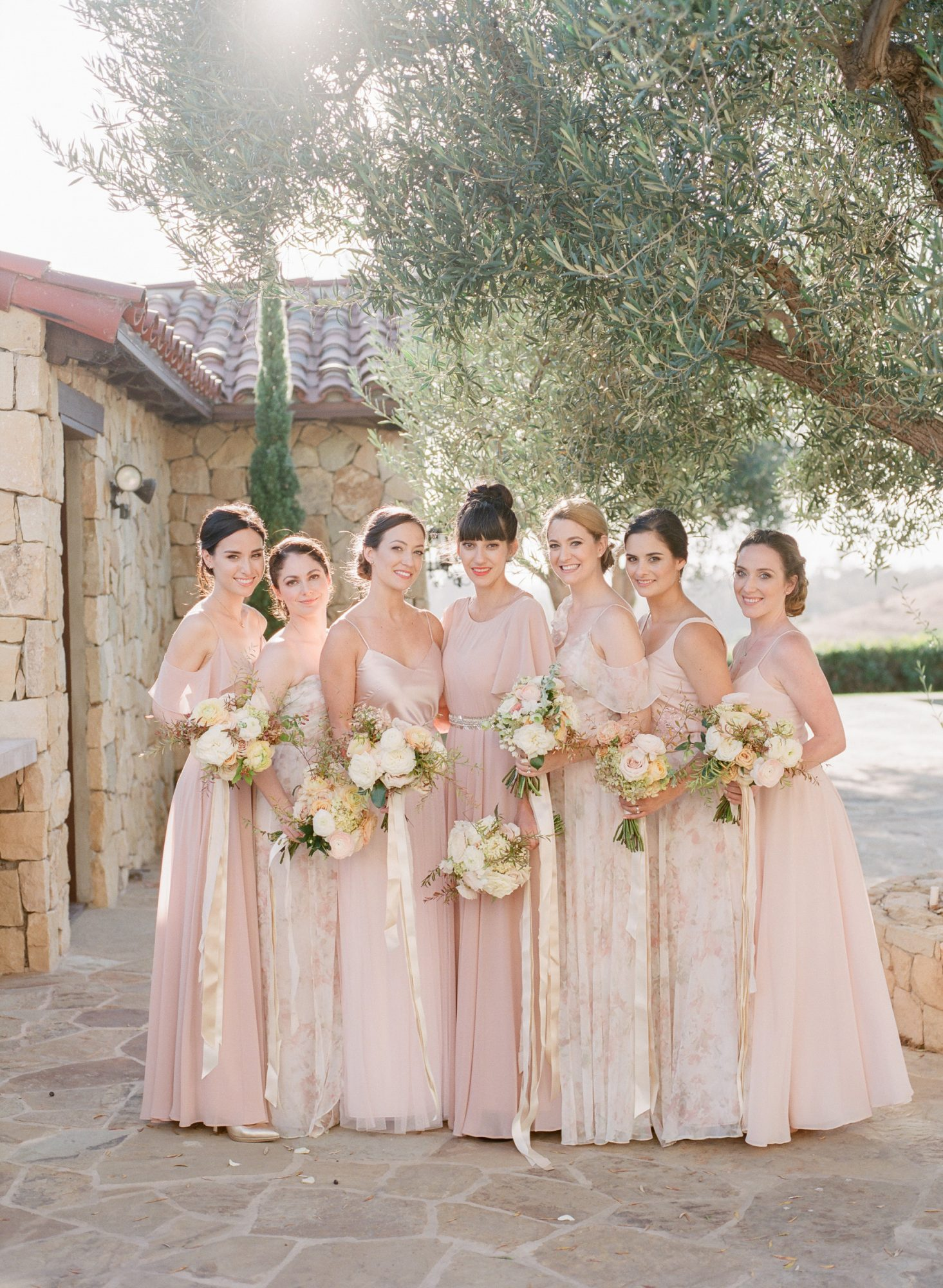 kathryn ian wedding bridesmaids