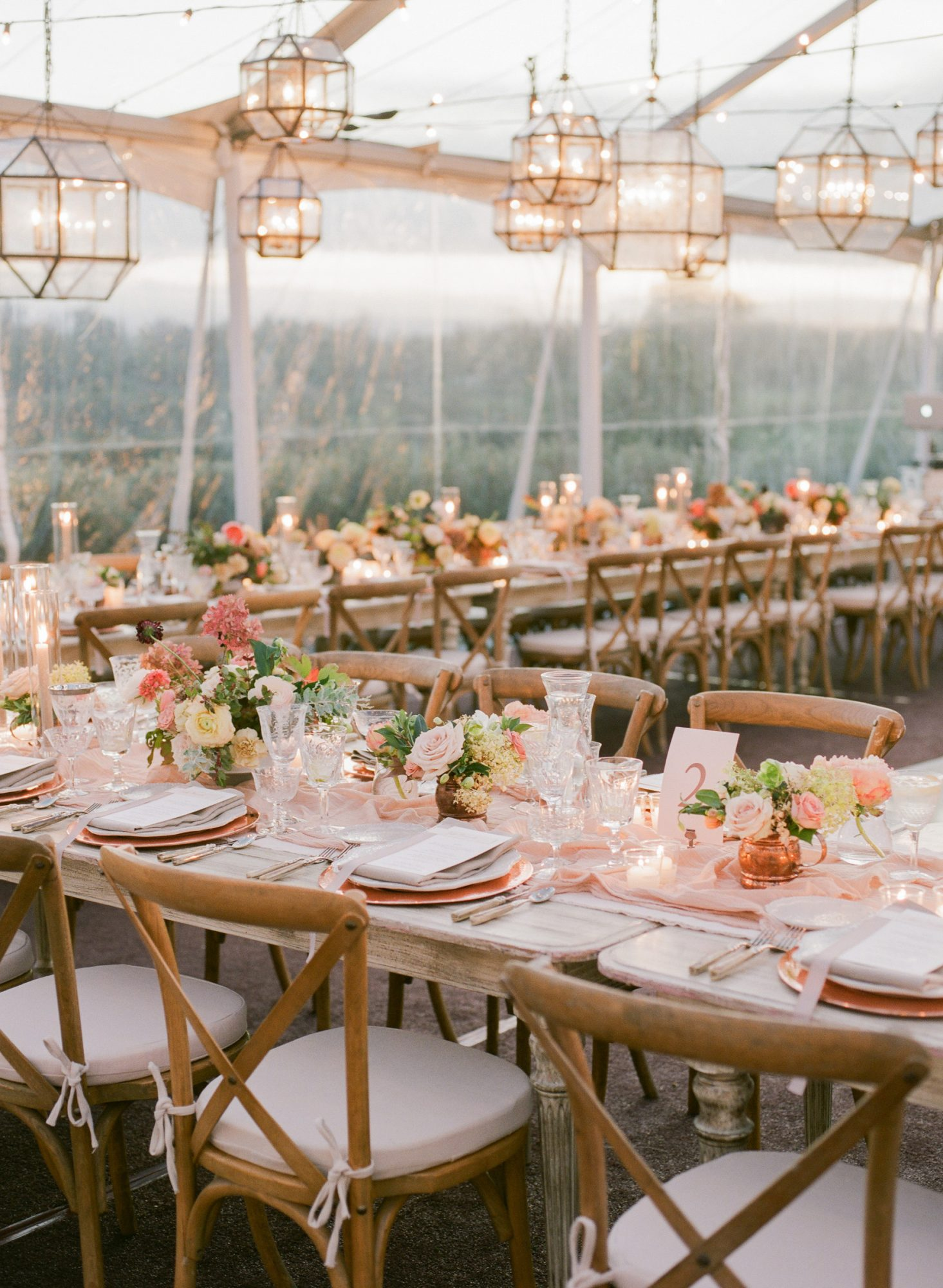 kathryn ian wedding tables