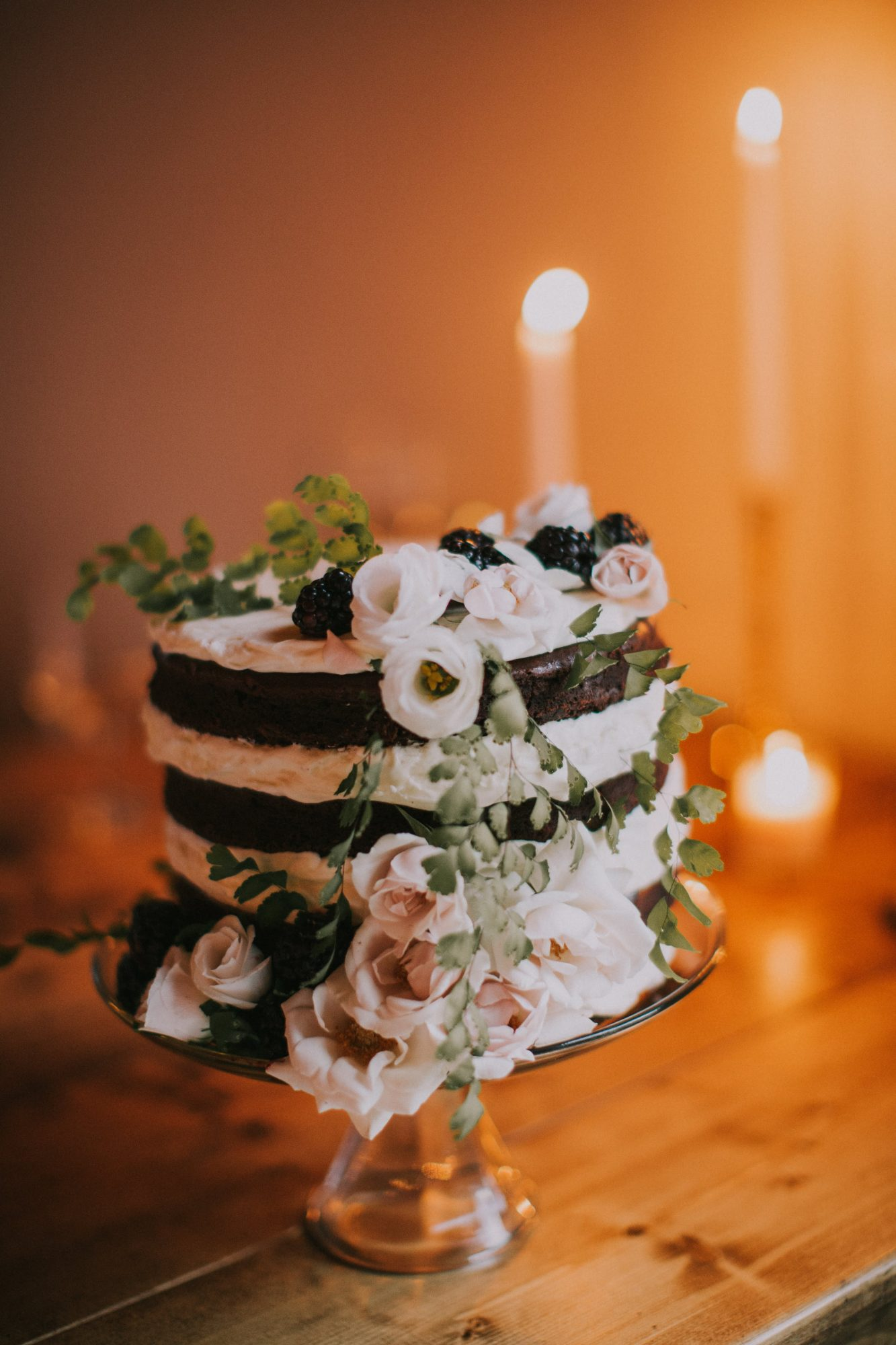A Small, Naked Cake