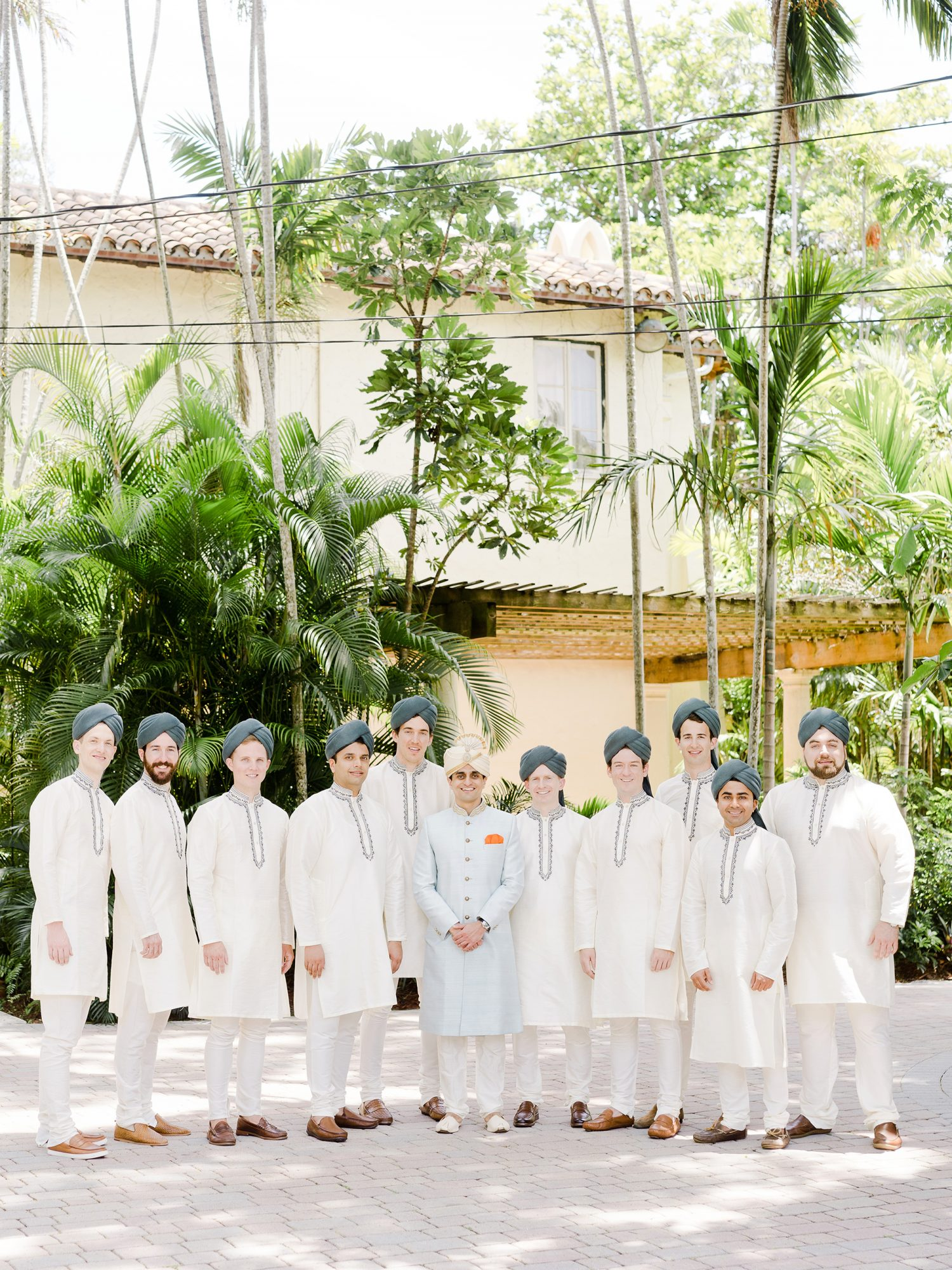 anuja nikhil wedding groomsmen