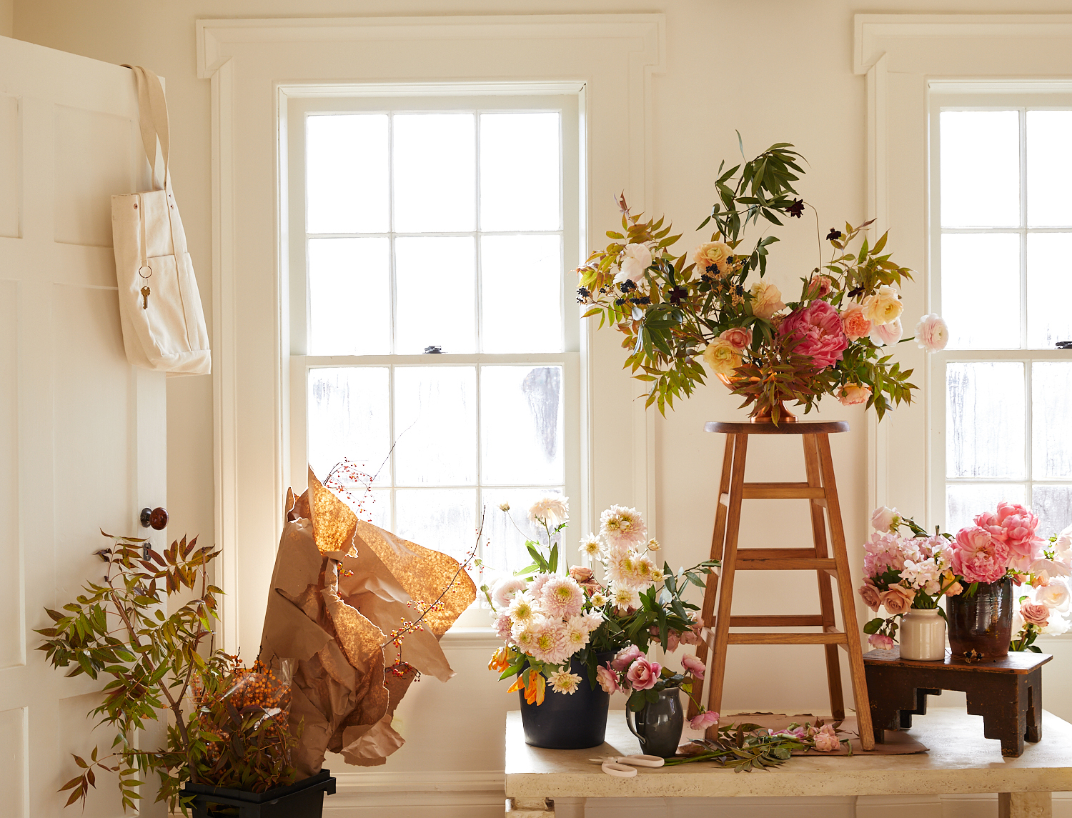 flower arrangements display