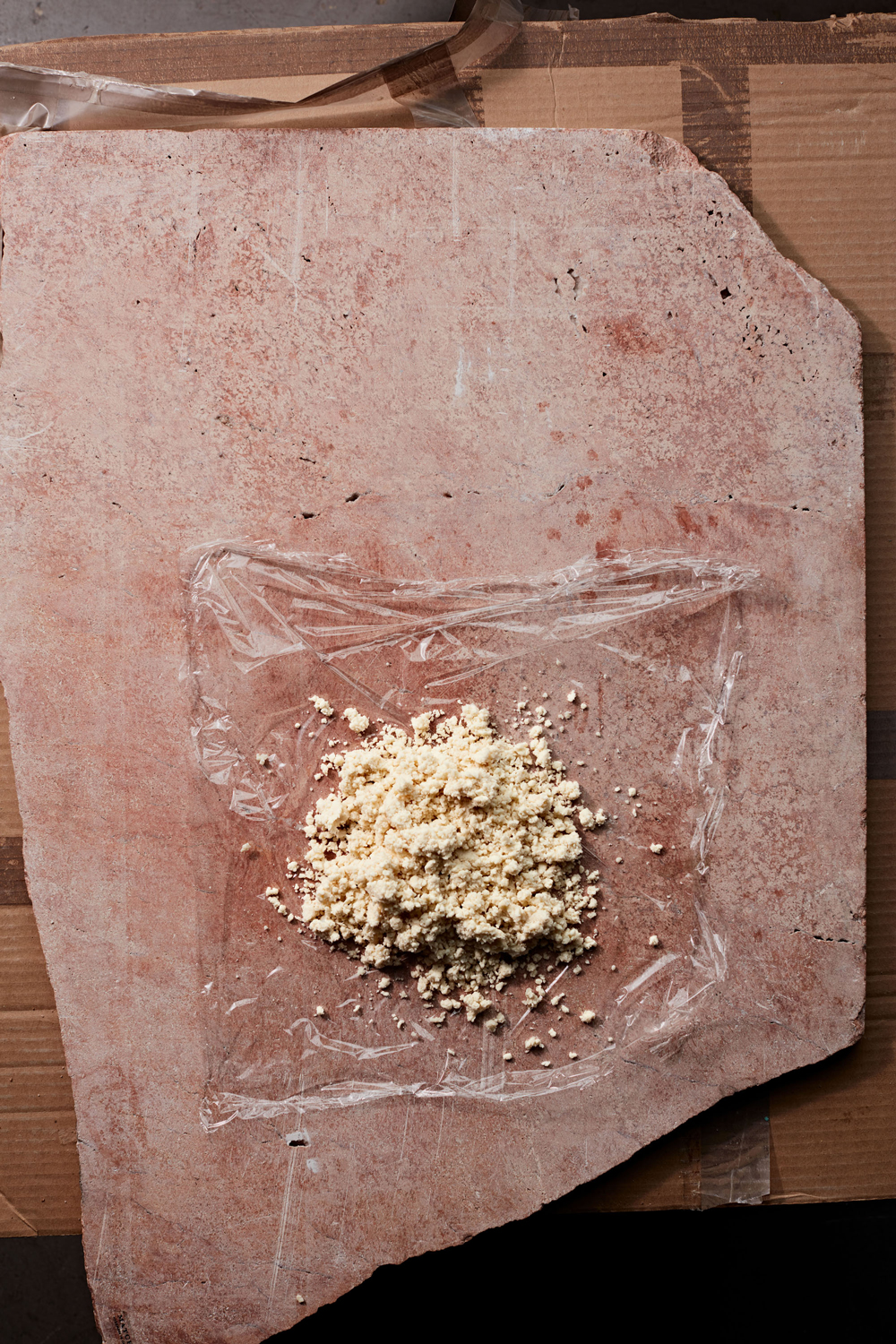 loose and crumbly pie dough