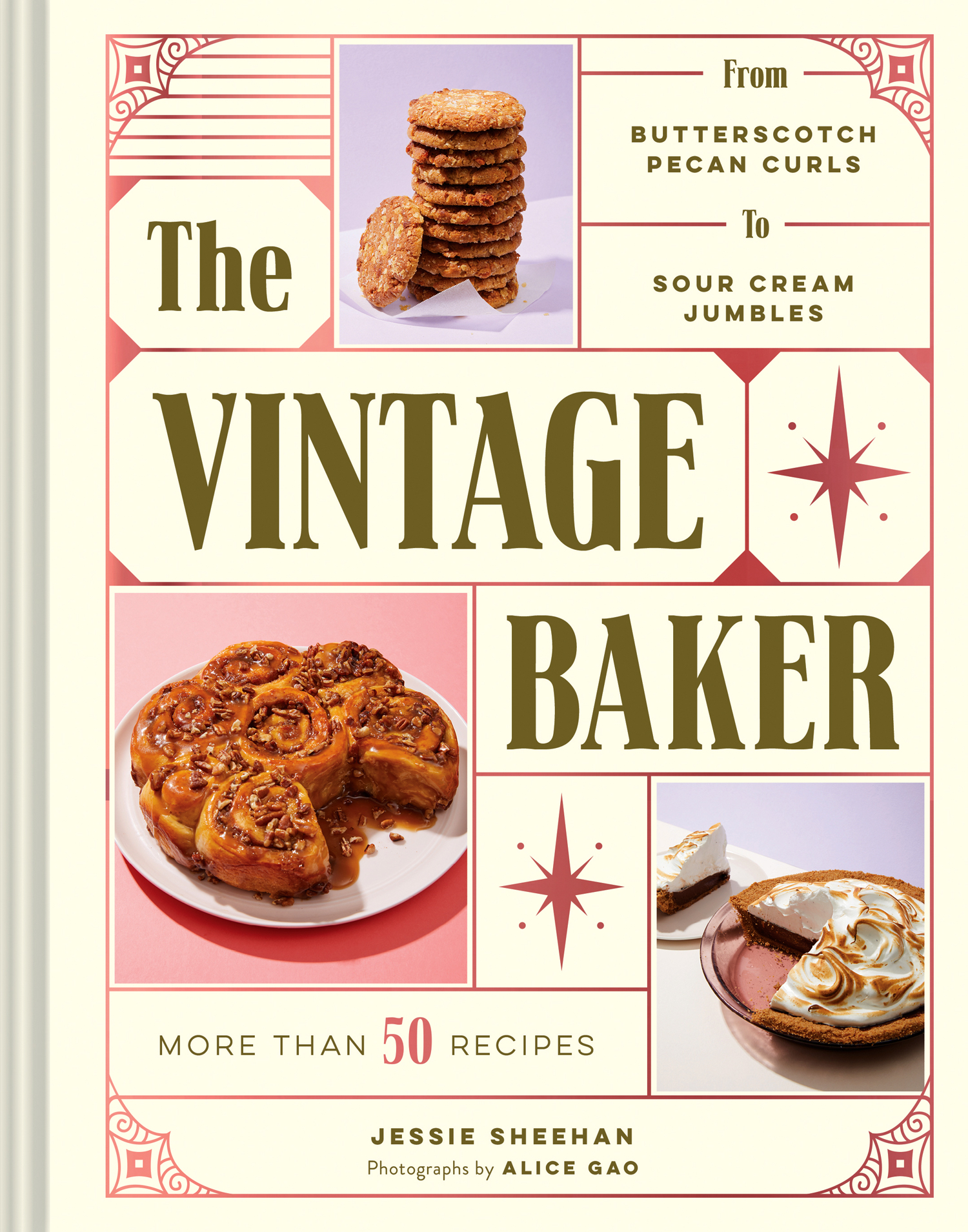 jessie sheehans the vintage baker cook book cover