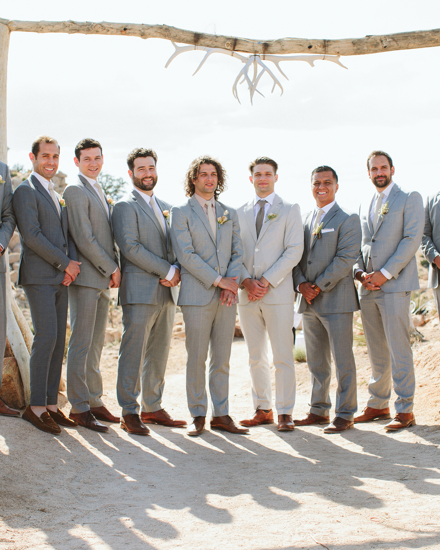ashley basil wedding groomsmen and groom