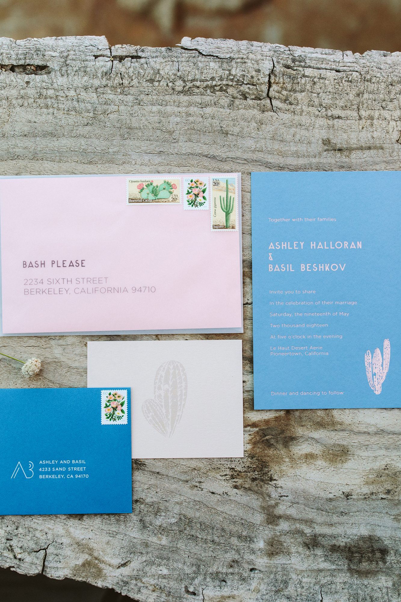 ashley basil wedding invitation suite