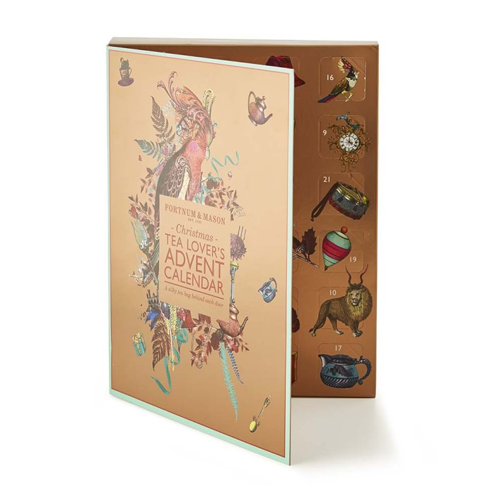 fortnum mason tea advent calendar