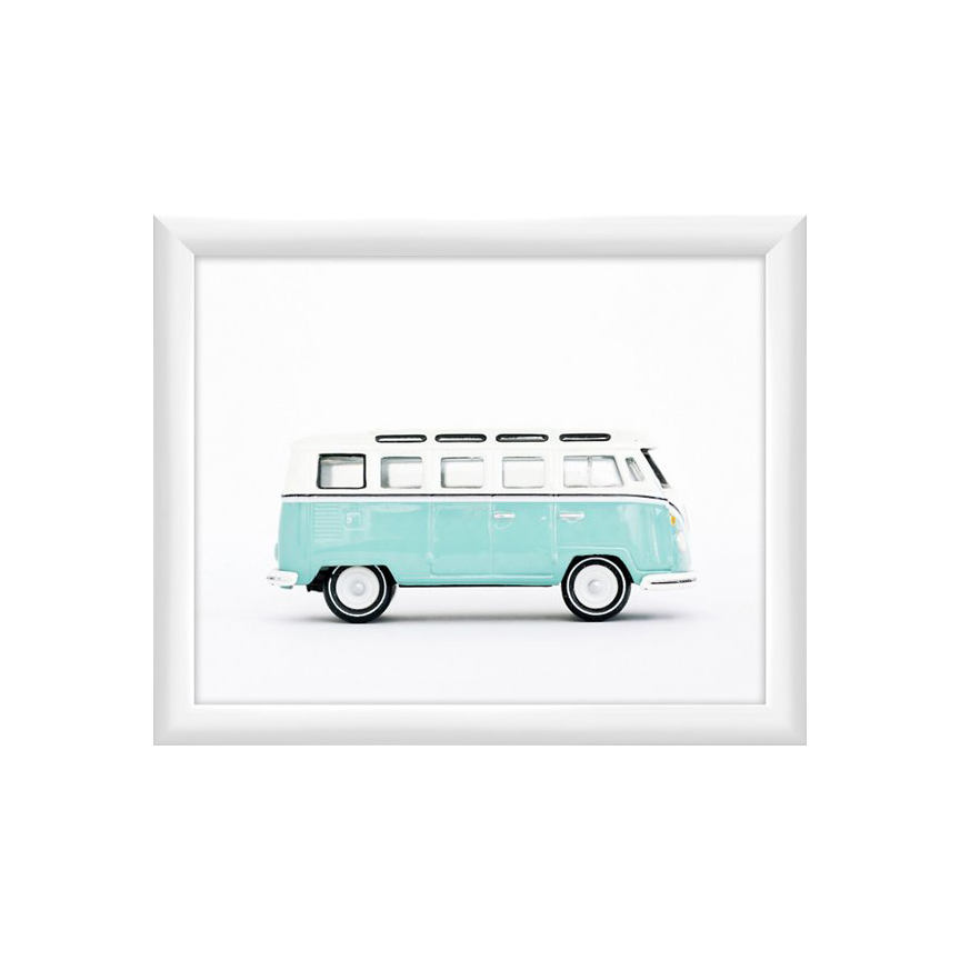framed mint volkswagen