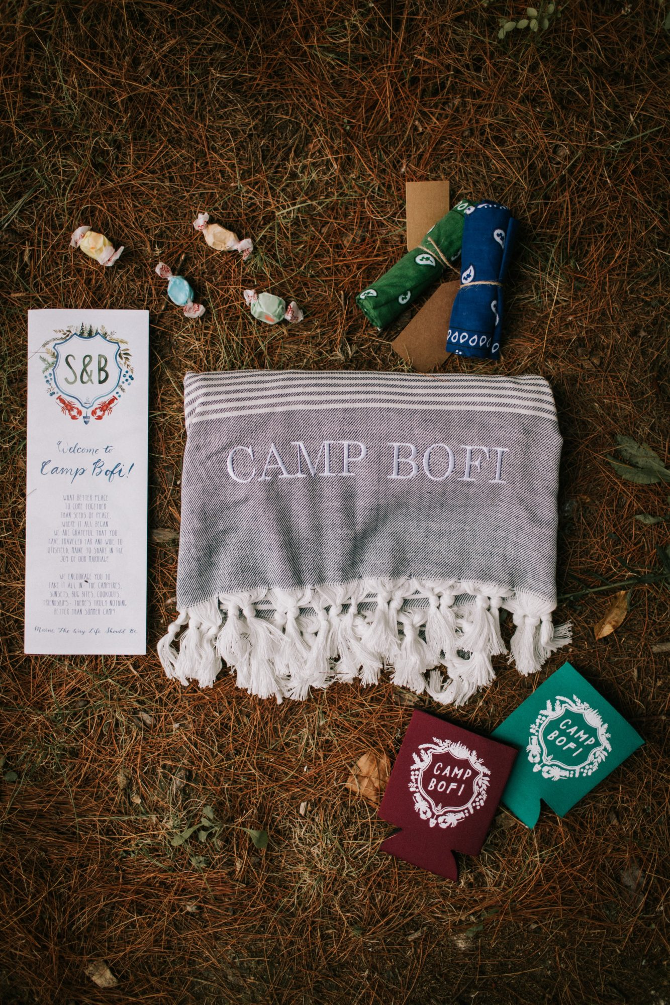 sofi ben camp weekend swag for guests