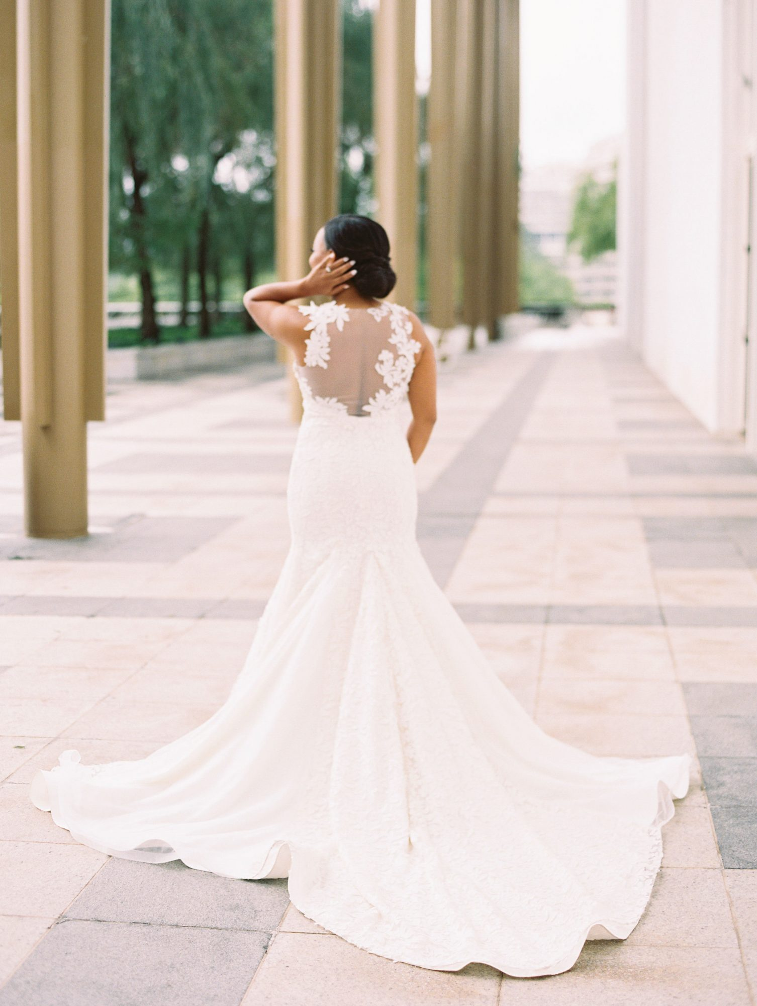melissa justen wedding bride dress
