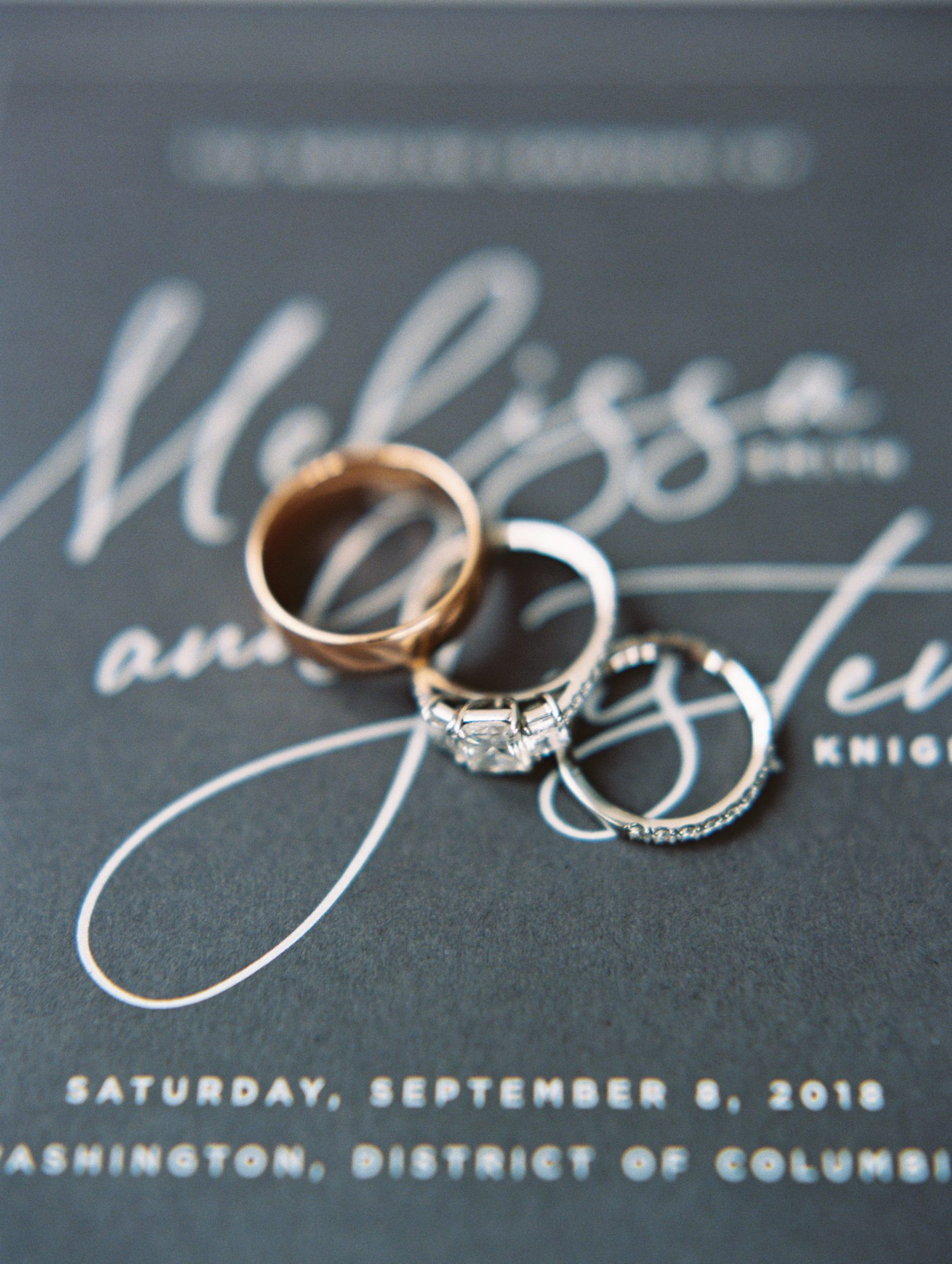 melissa justen wedding rings on programs