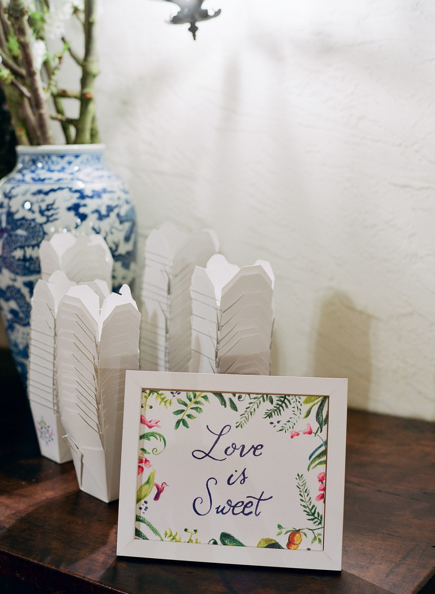 chelsea conor wedding favors to go boxes