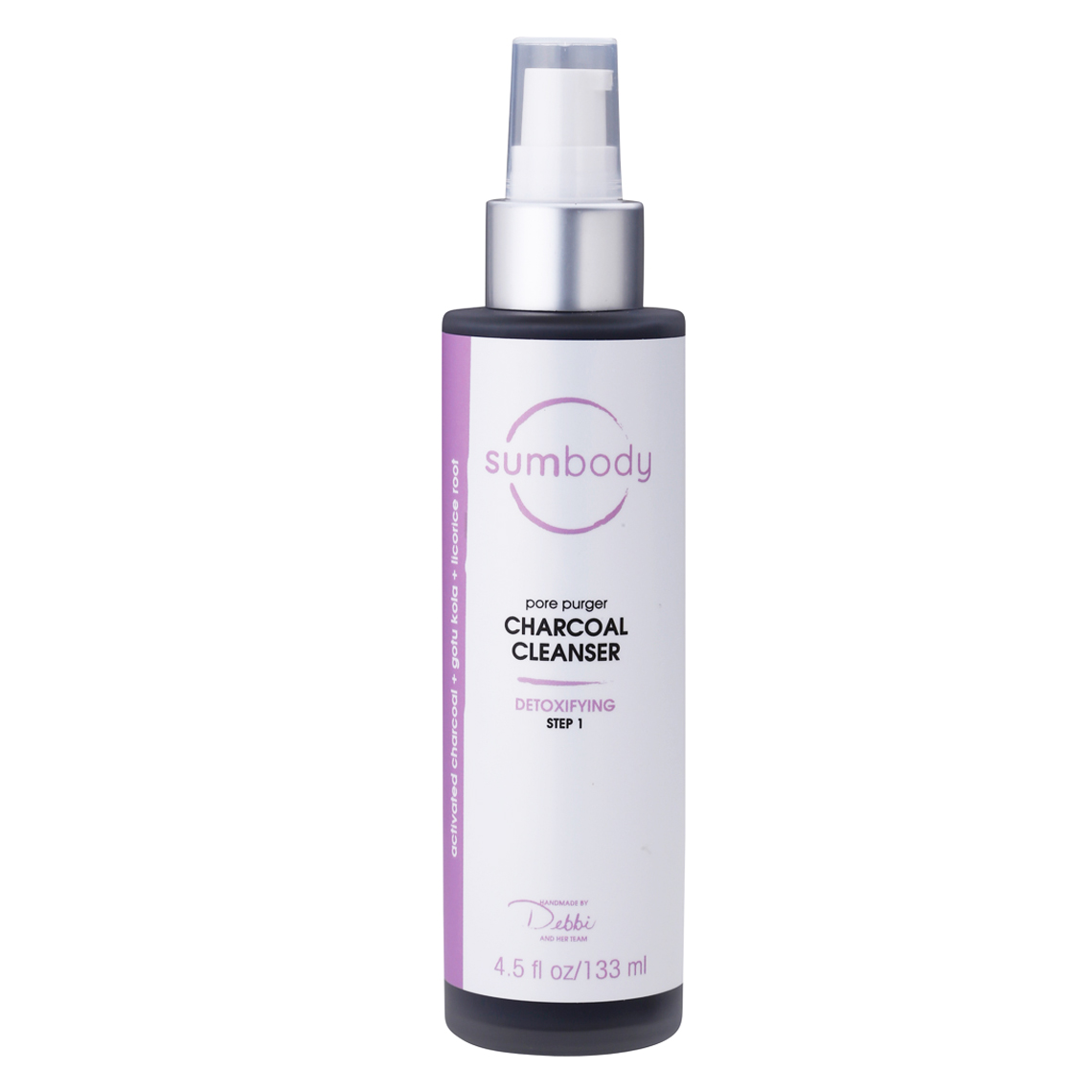 sumbody charcoal cleanser