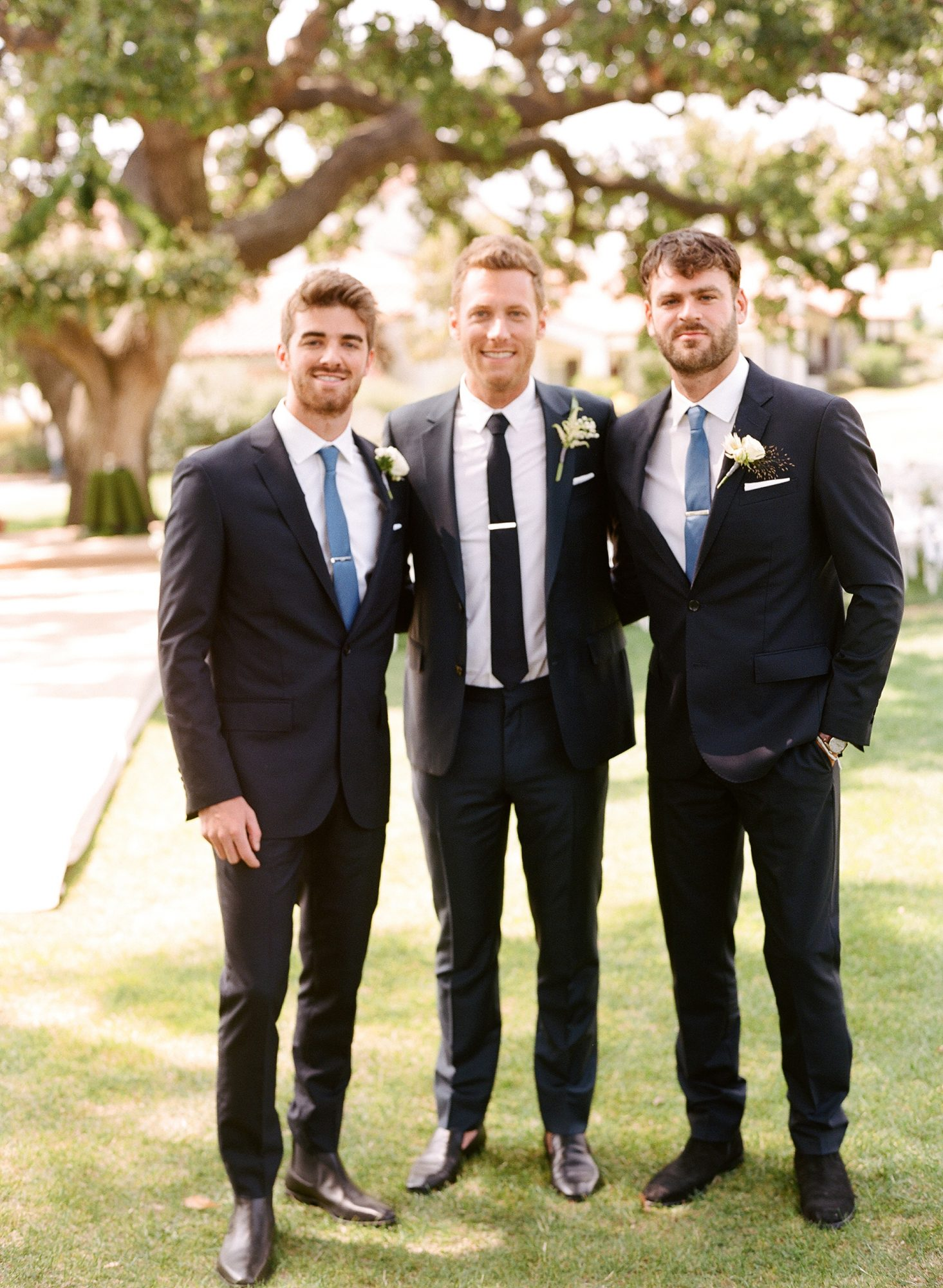 ashlie adam alpert wedding chainsmokers groomsmen