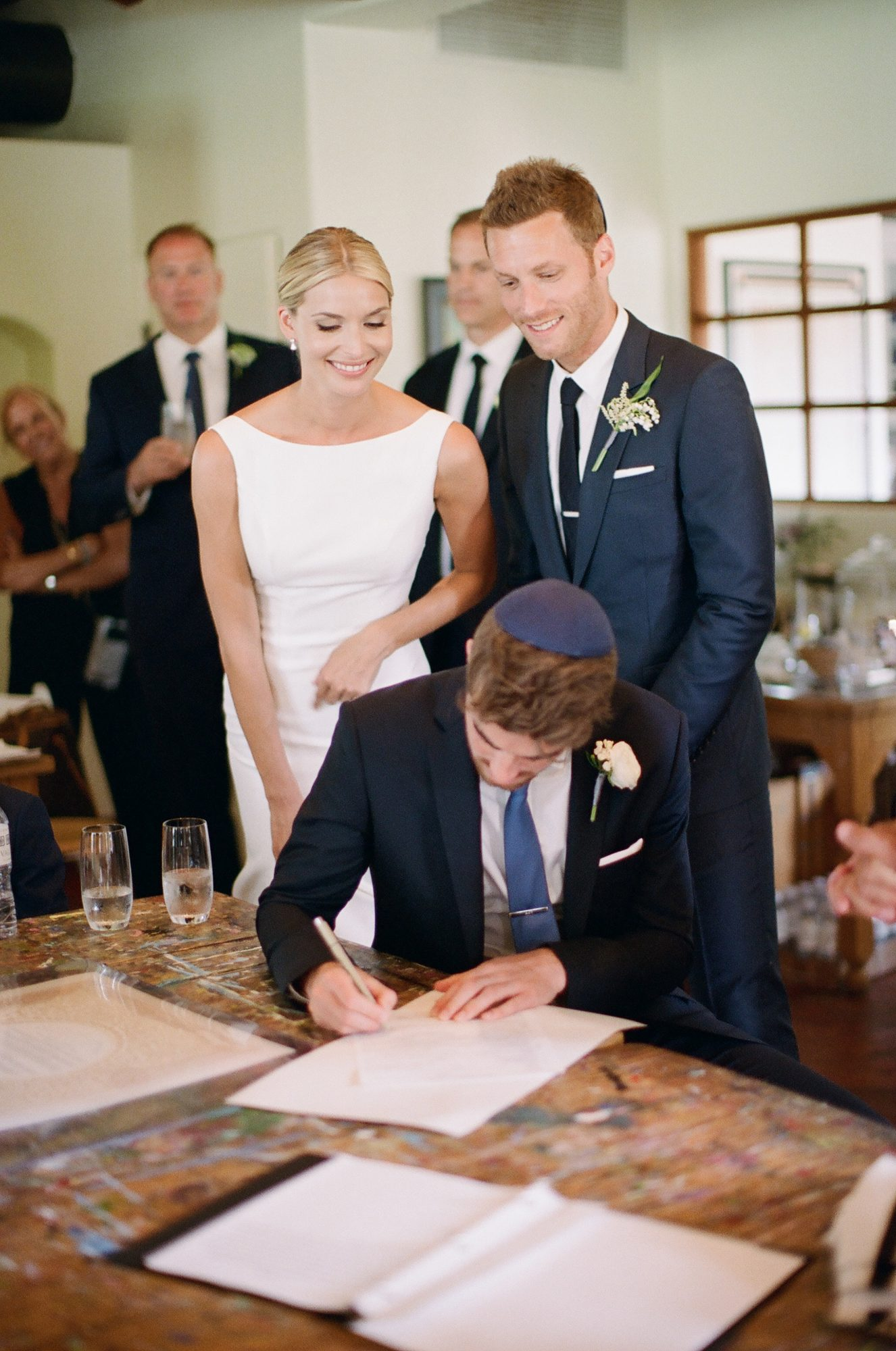 ashlie adam alpert wedding ketubah chainsmokers