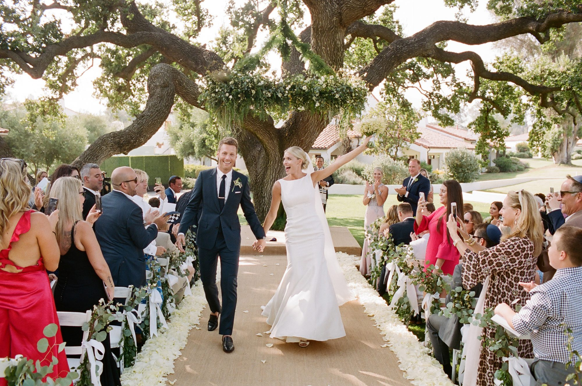 ashlie adam alpert wedding recessional