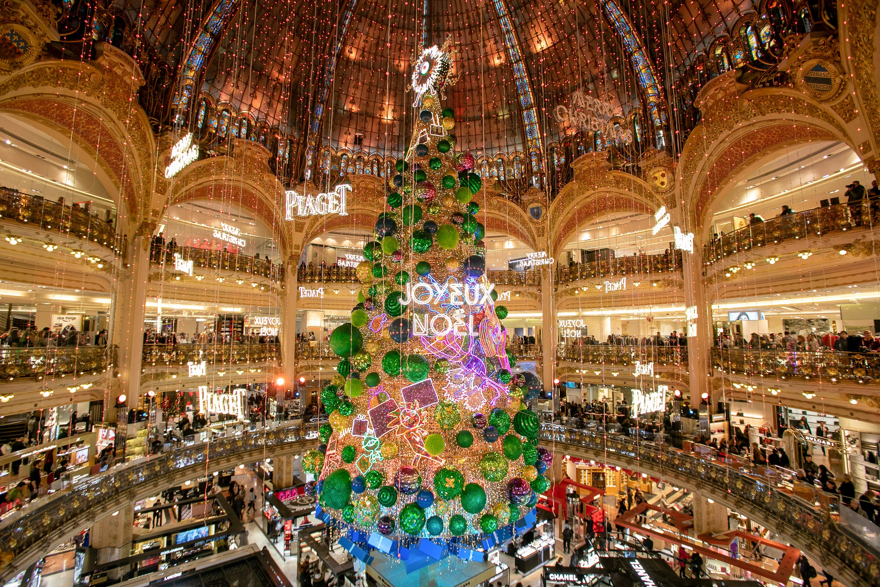 Image result for galeries lafayette tree