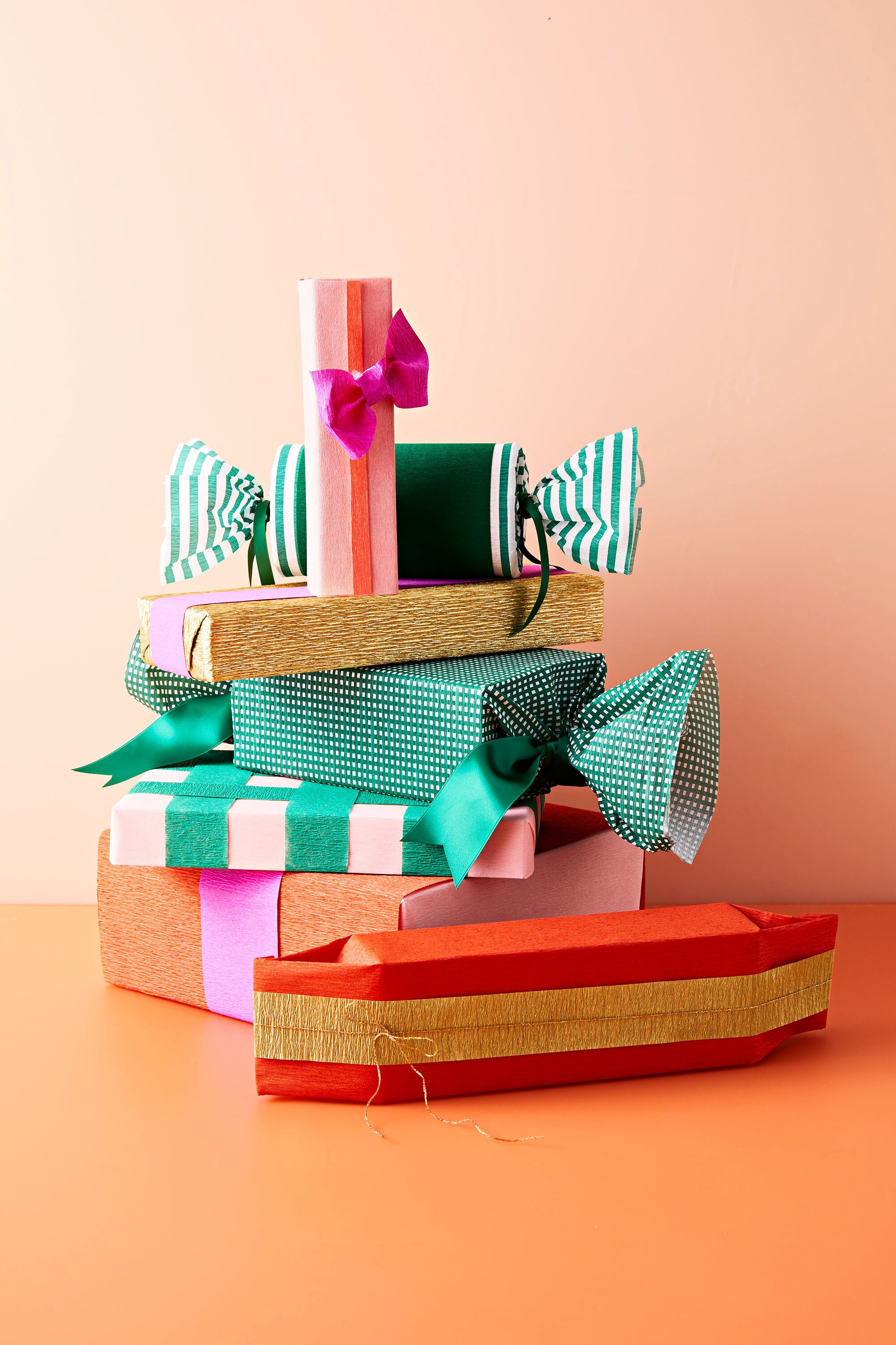 Crepe Paper Its Our Golden Secret To Gorgeous Gift