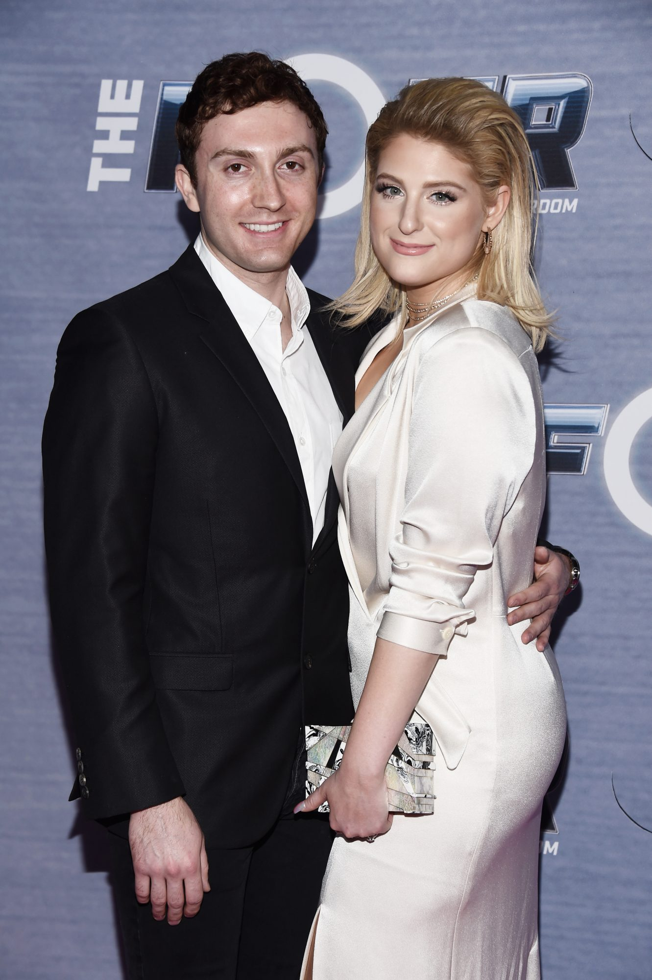meghan trainor daryl sabara the four viewing party