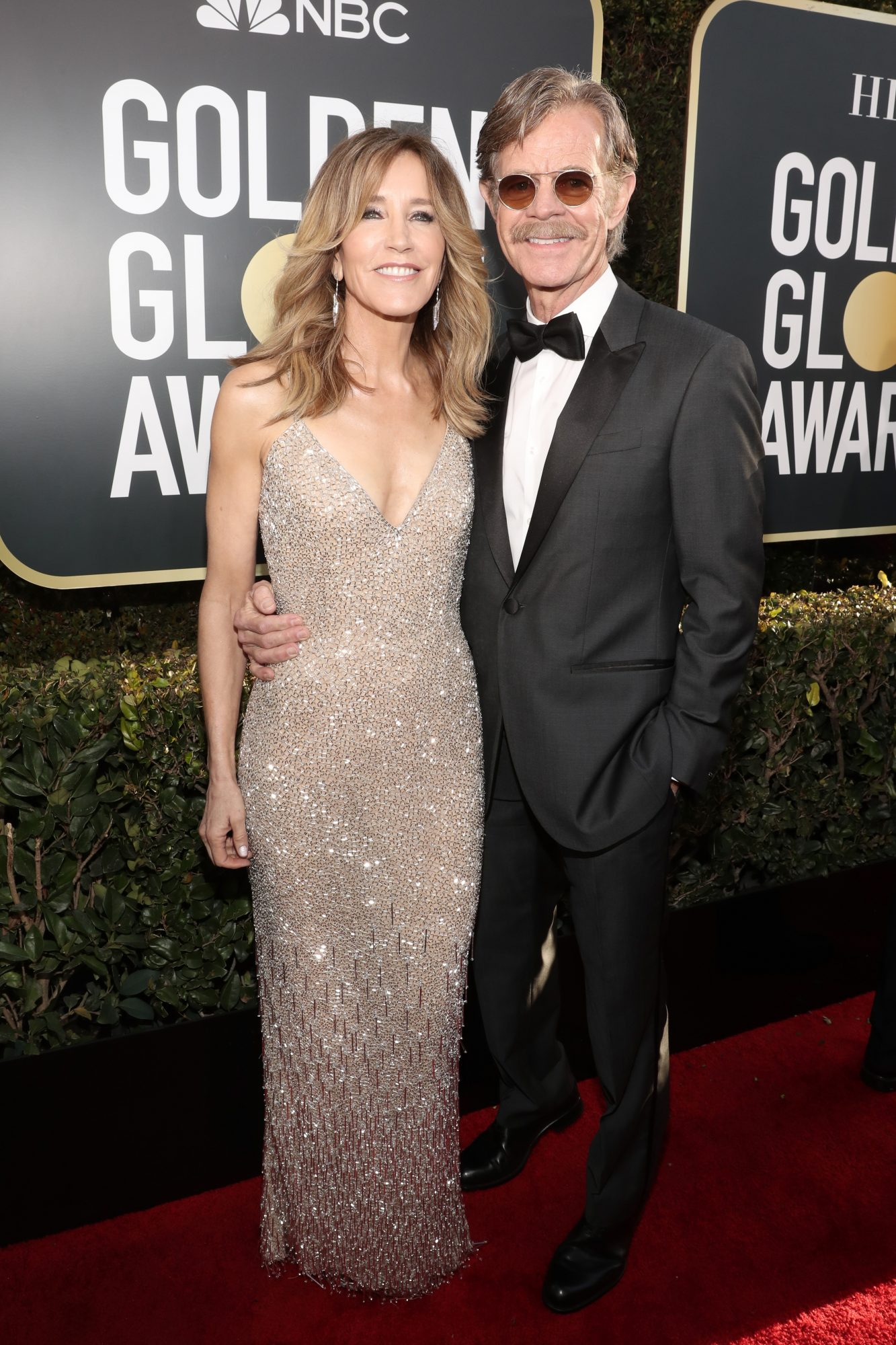 felicity huffman and william h macy 2019 golden globes